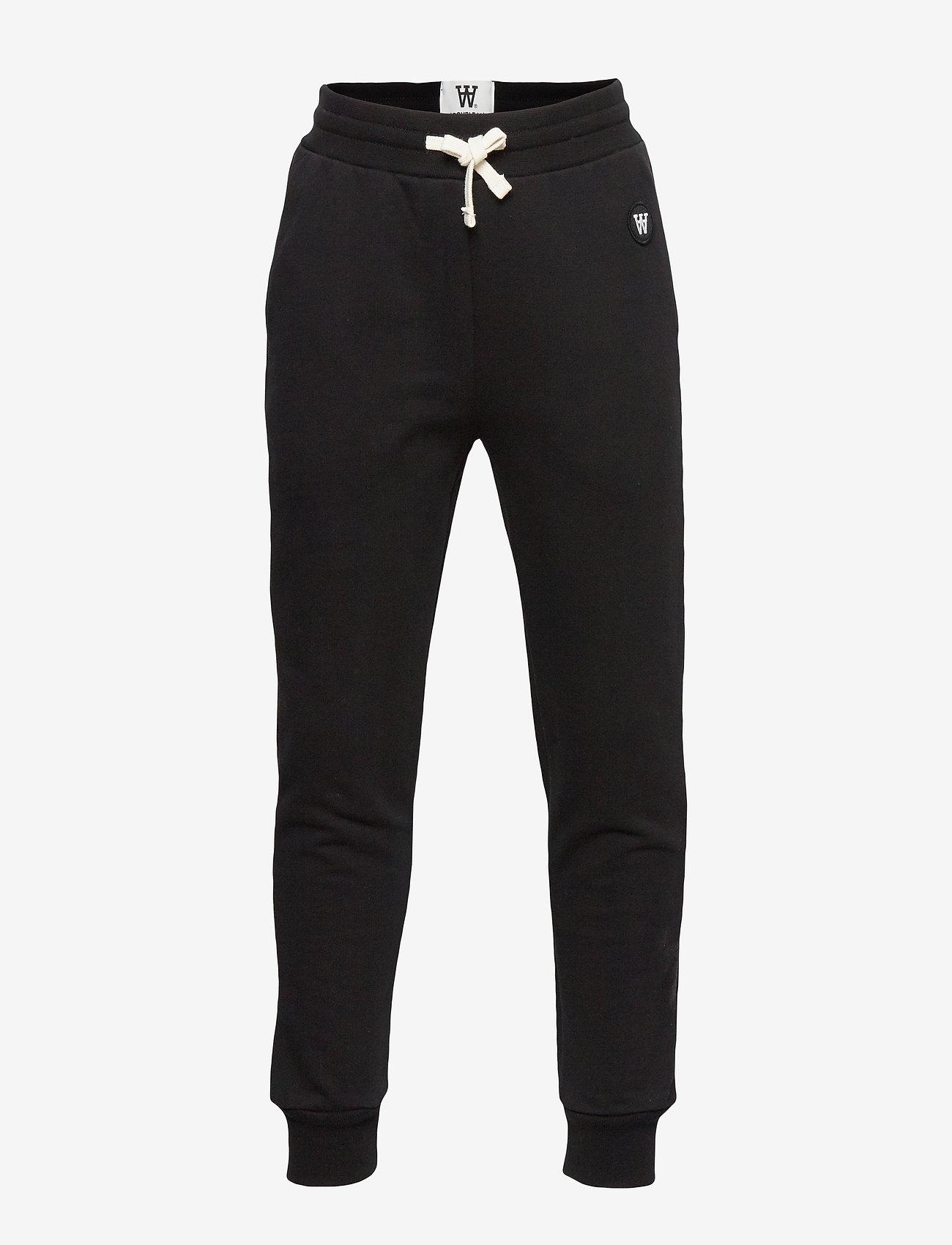 Wood Wood - Ran kids trousers - verryttelyhousut - black