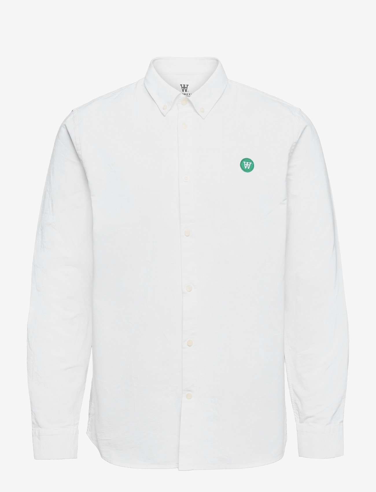 Wood Wood - Ted shirt - denimskjorter - bright white - 0