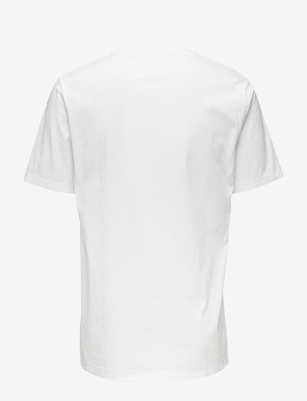 Wood Wood Ace T-shirt - T-skjorter BRIGHT WHITE - Menn Klær