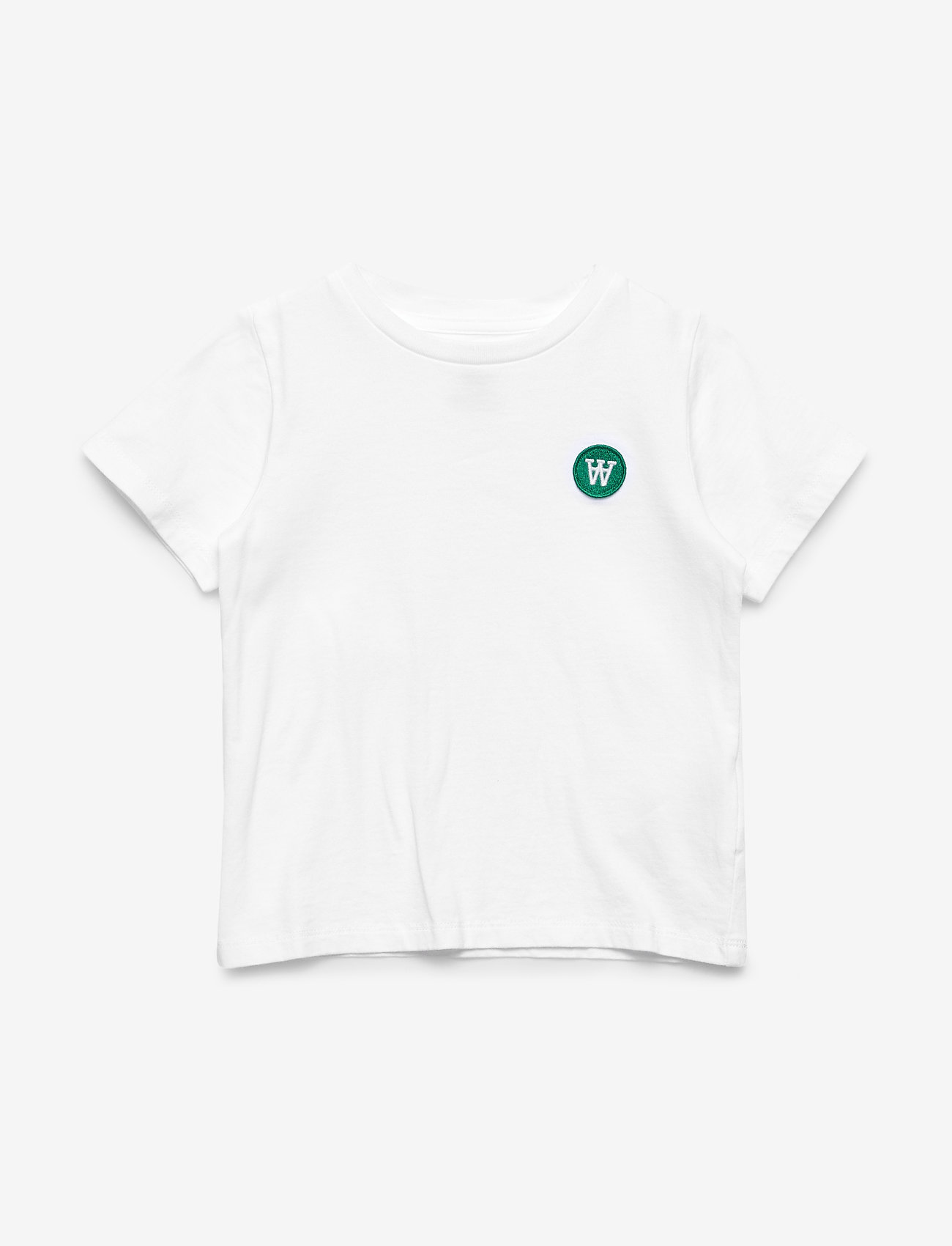 Wood Wood - Ola kids T-shirt - kortærmede - bright white - 0