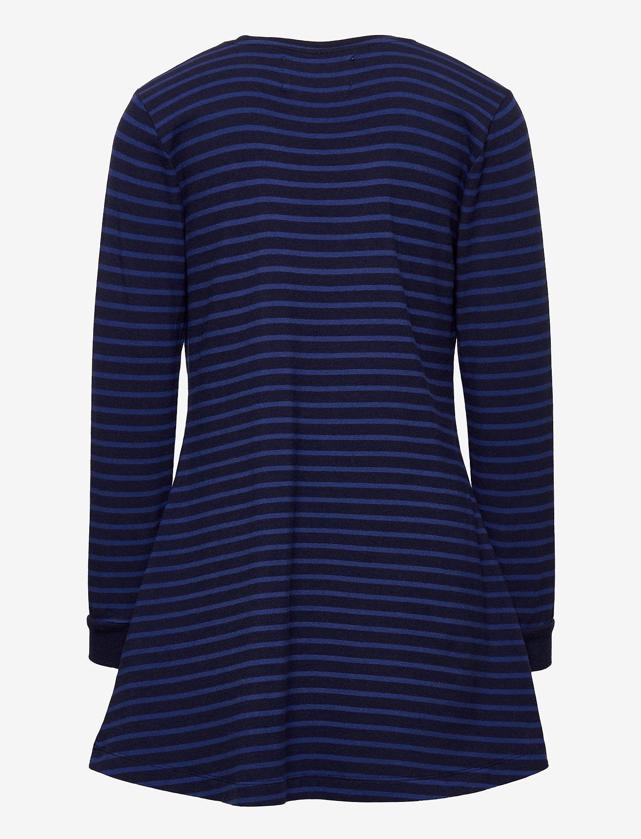Wood Wood - Aya dress - robes - navy/blue stripes - 1