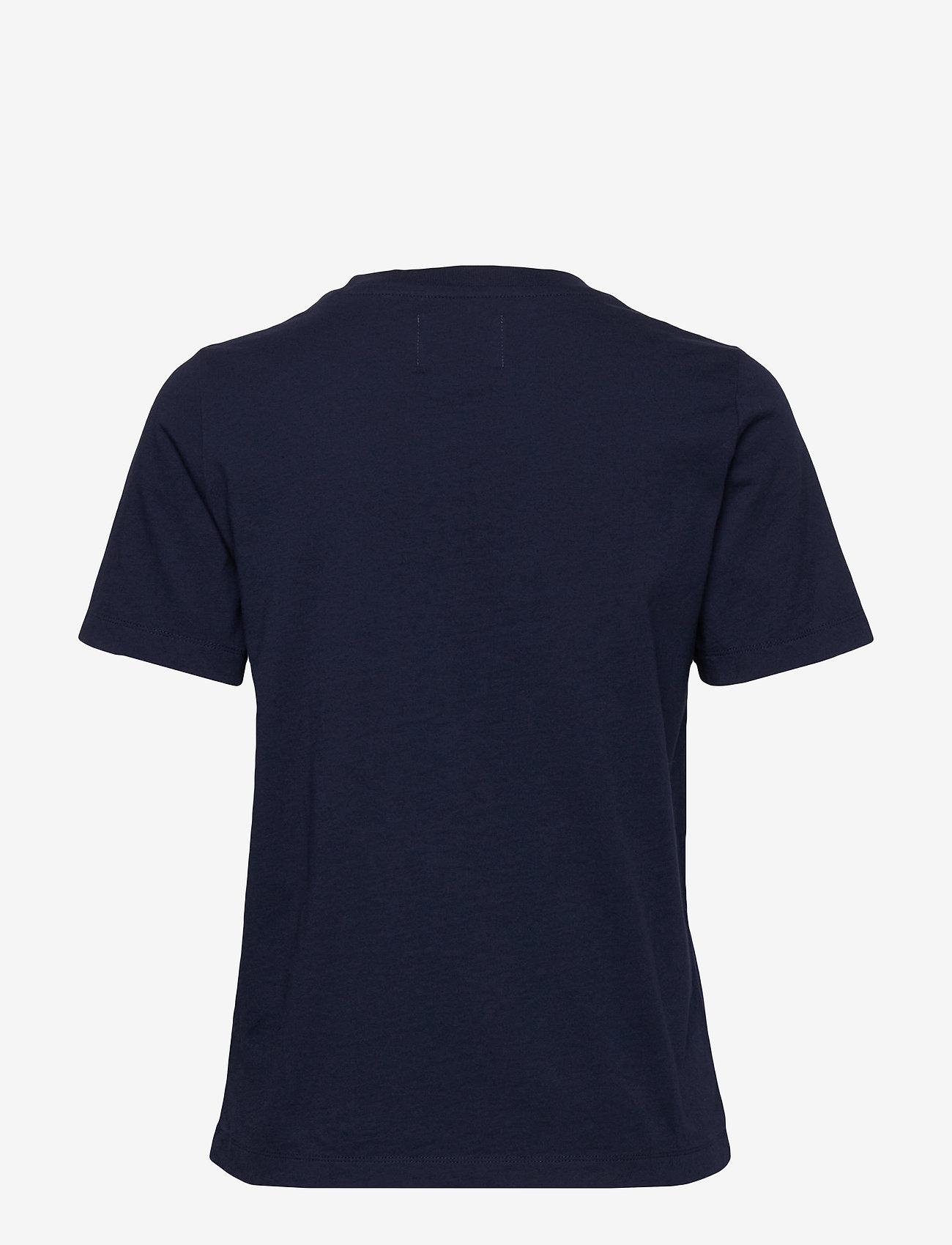 Mia T-shirt (Navy) - Wood Wood Zk3dw4