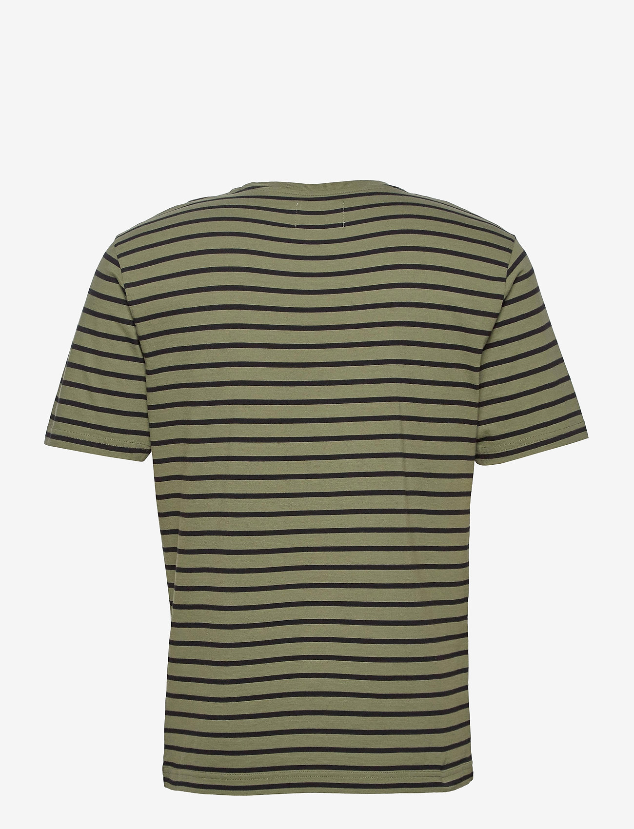 Wood Wood Ace T-shirt - T-skjorter ARMY/BLACK STRIPES - Menn Klær