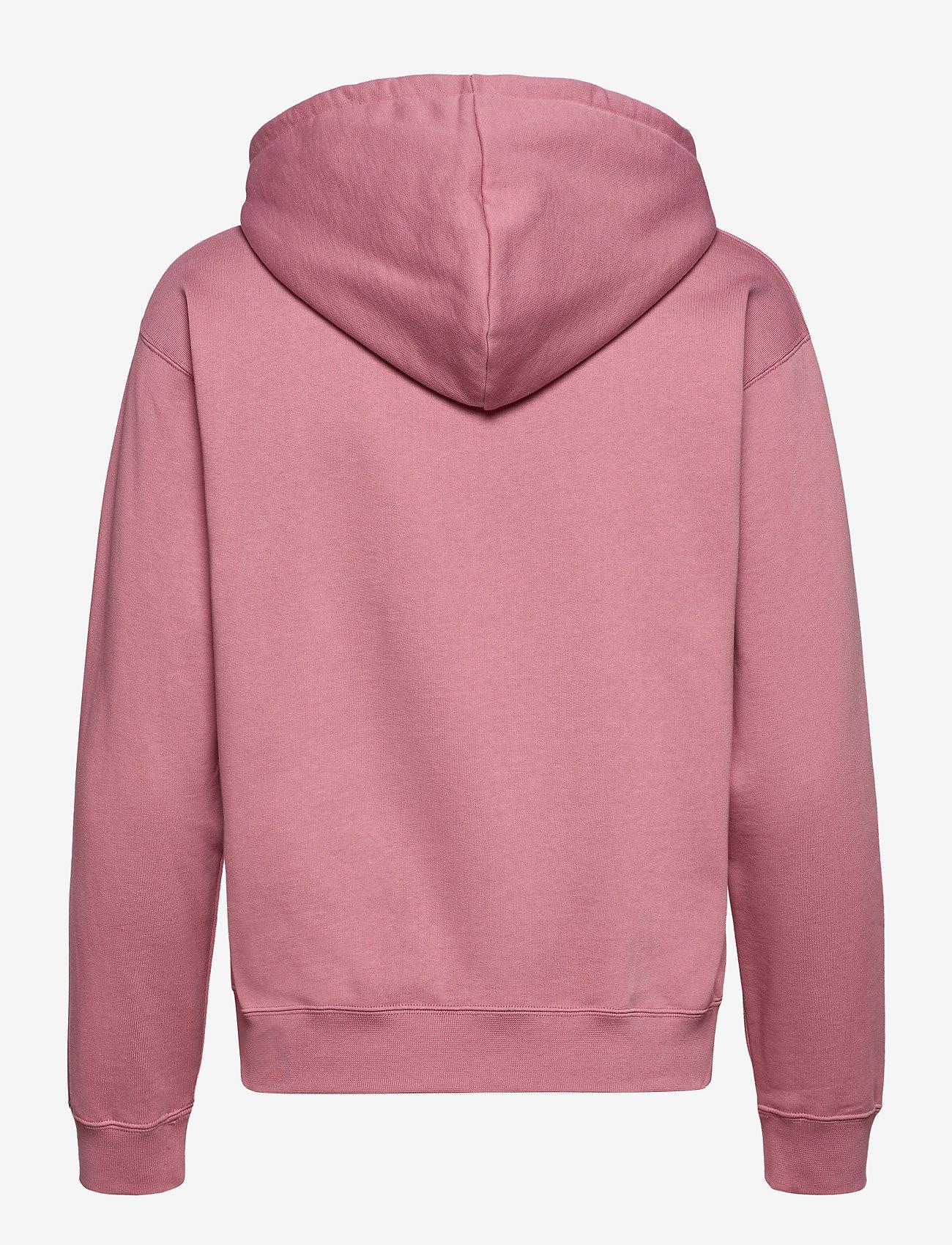 Wood Wood - Jenn hoodie - sweatshirts & hættetrøjer - rose - 1