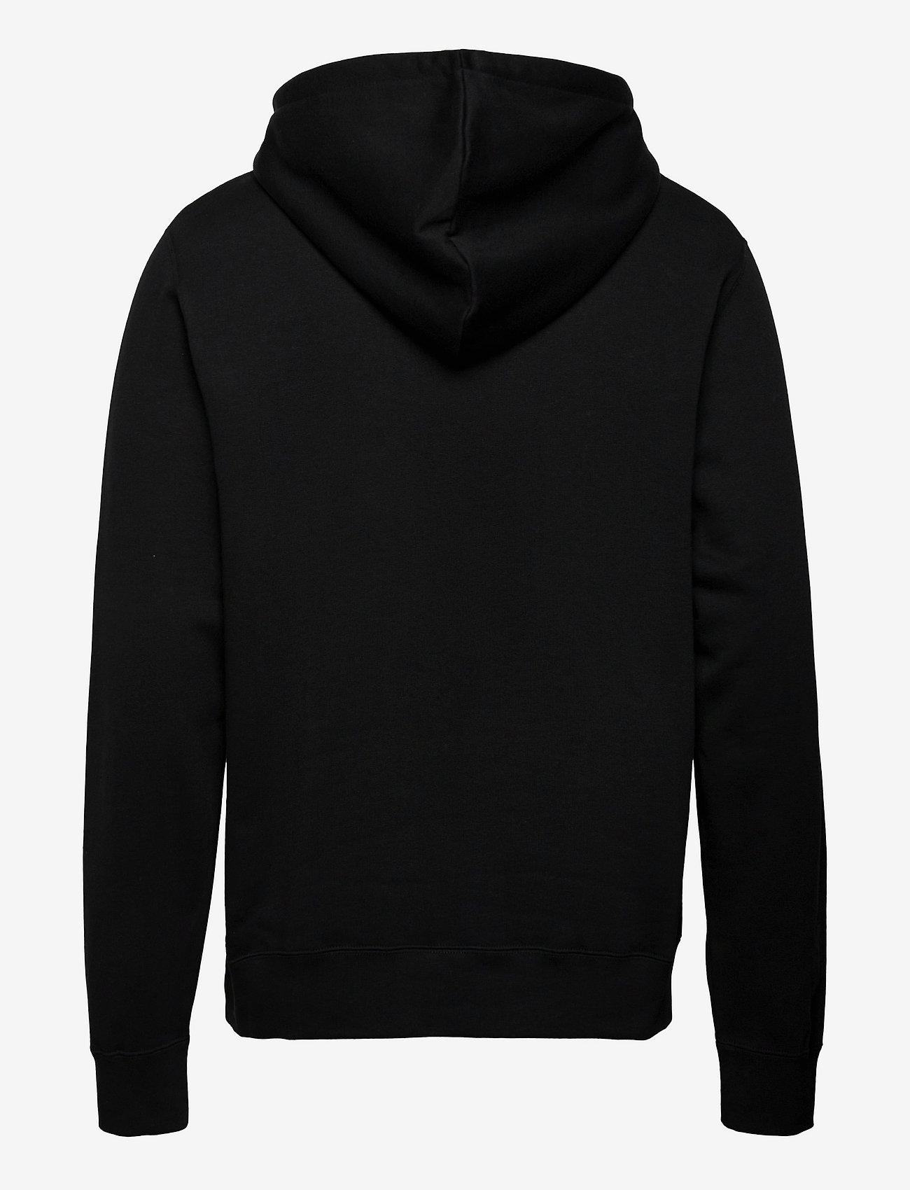 Wood Wood - Ian hoodie - hoodies - black/green - 1