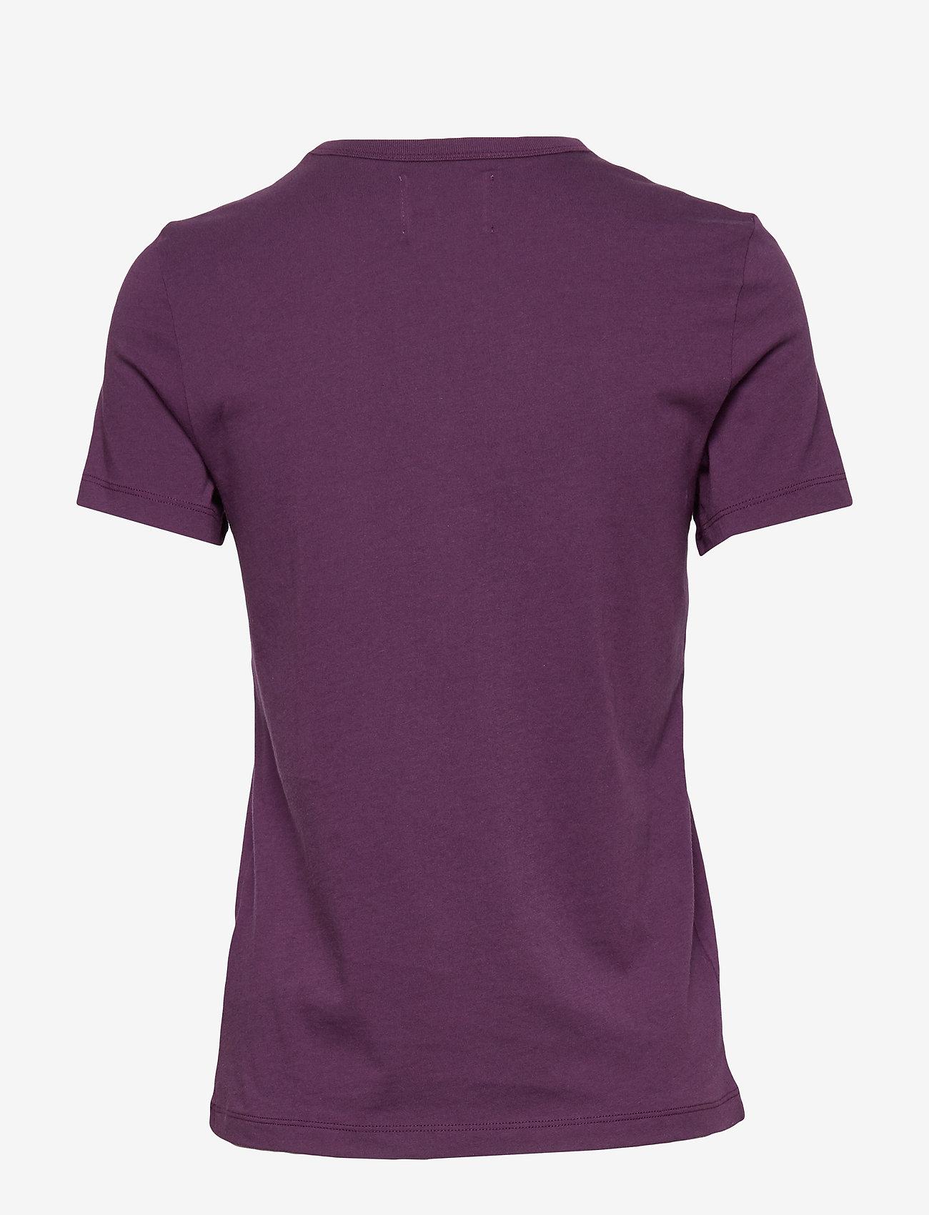 Wood Wood - Uma T-shirt - t-shirts basiques - aubergine