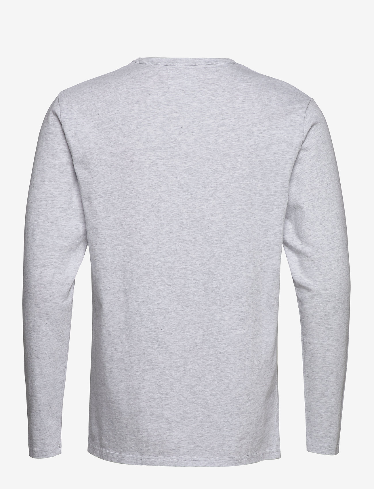 Wood Wood - Mel long sleeve - À manches longues - light grey melange