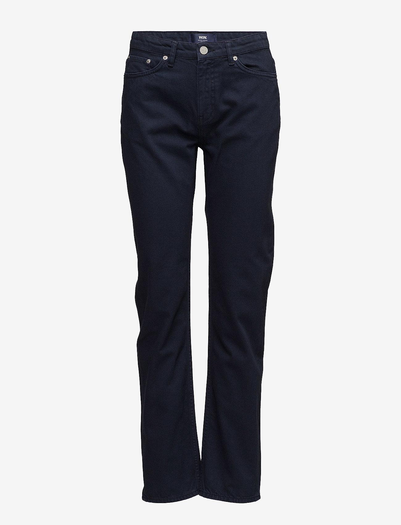 Wood Wood - Ina jeans - straight jeans - dark blue