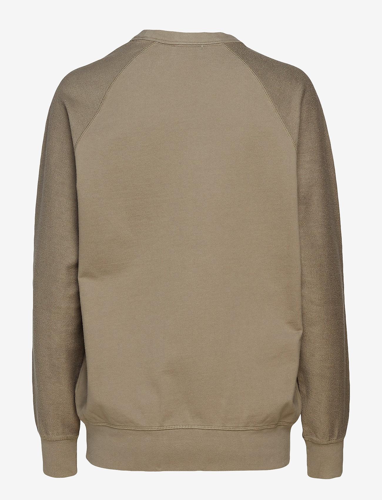 Wood Wood - Hester sweatshirt - sweatshirts - stone