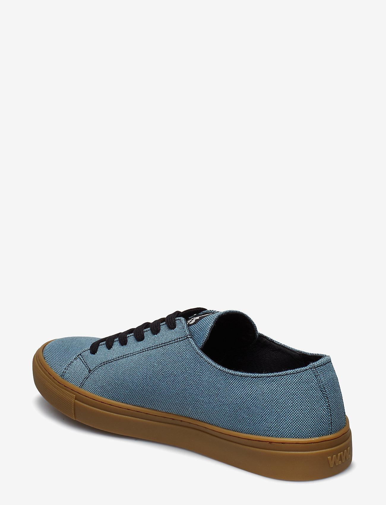 Wood Wood - Alex shoe - låga sneakers - blue - 2