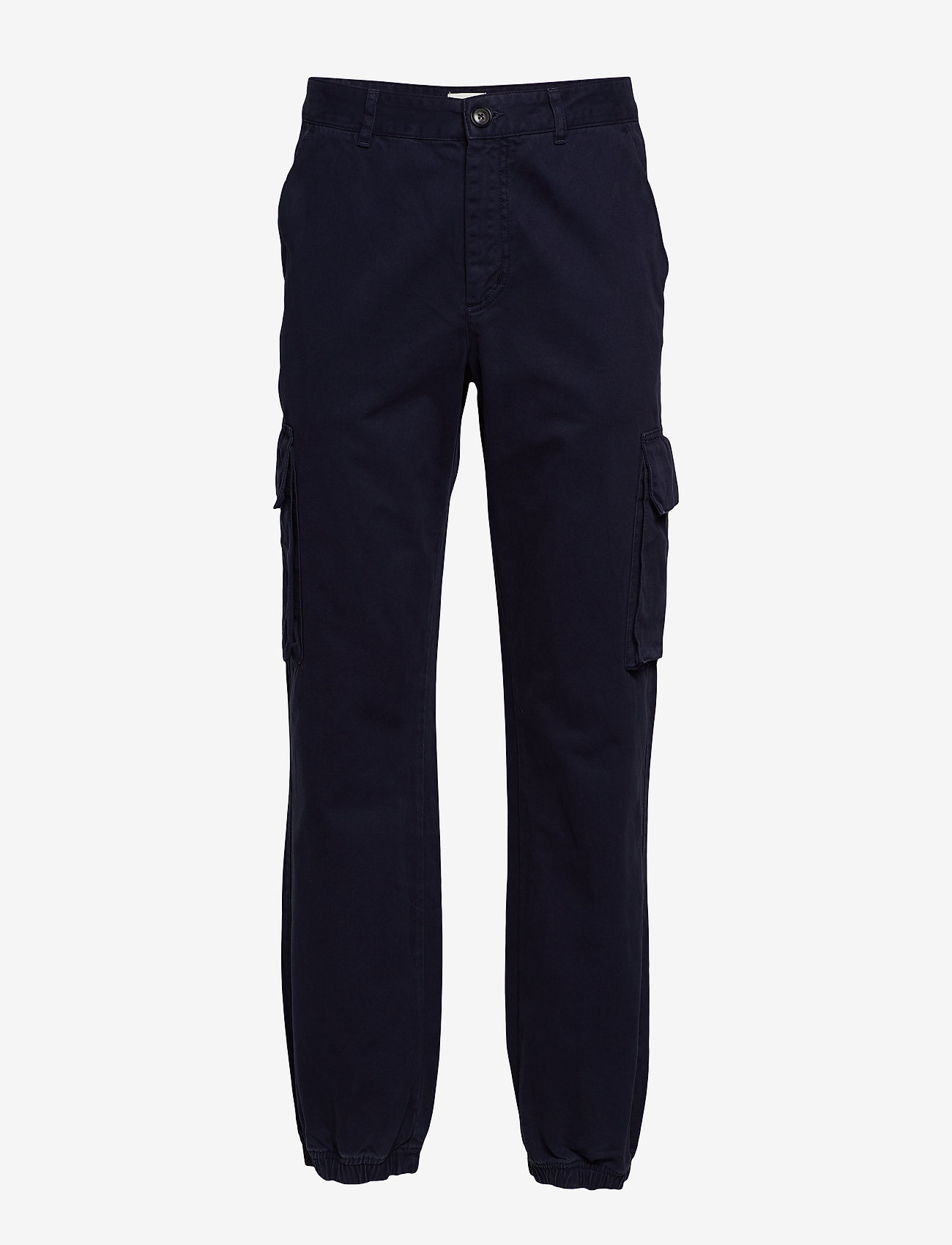 Wood Wood - Eigil trousers - bojówki - navy - 0