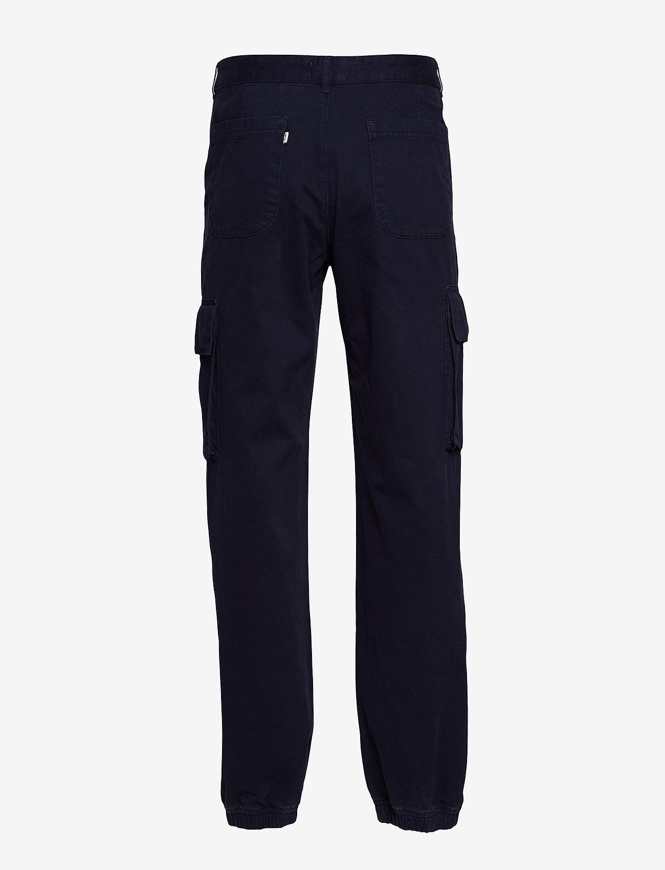 Wood Wood - Eigil trousers - bojówki - navy - 1