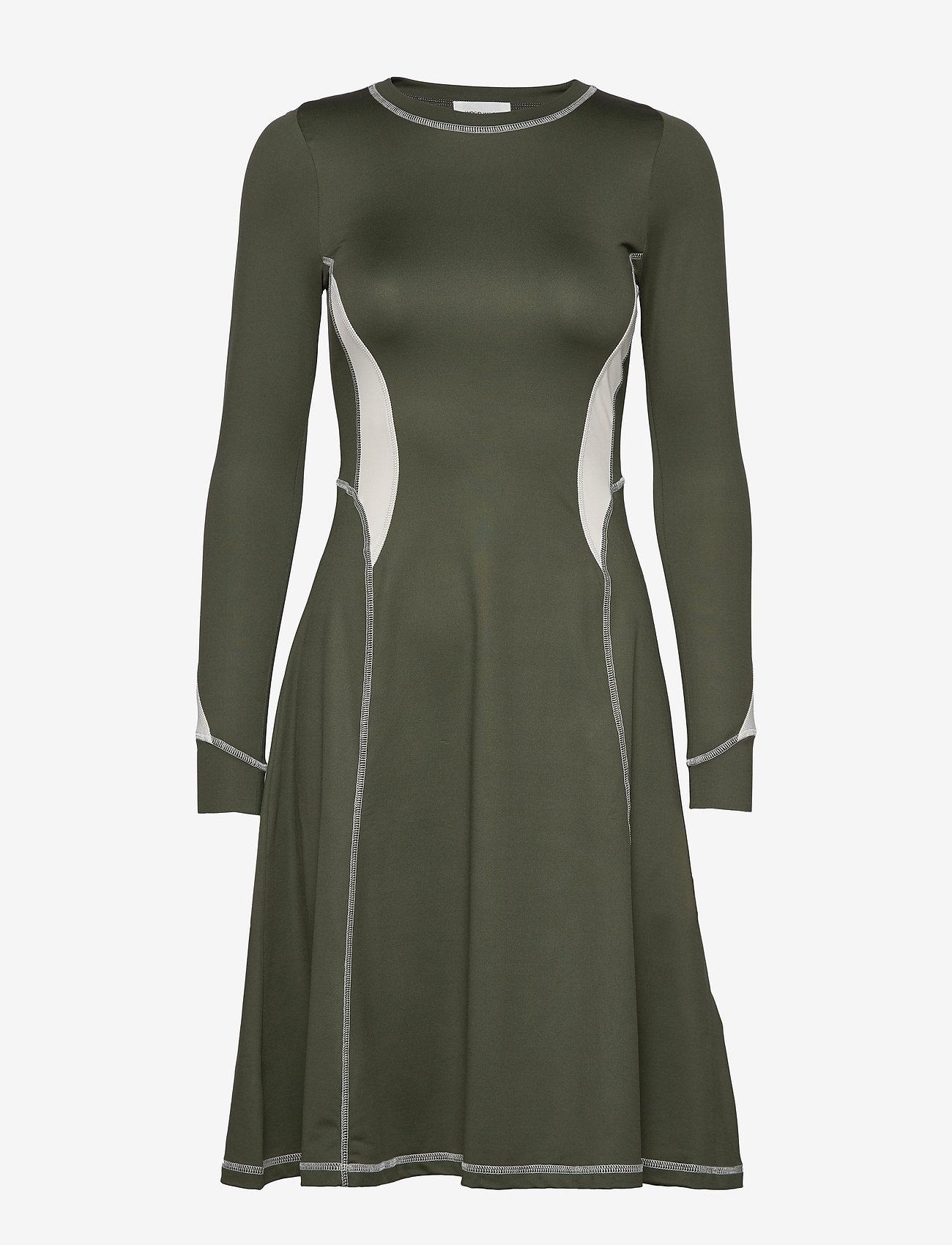 Wood Wood - Sue dress - korte kjoler - dark green - 0