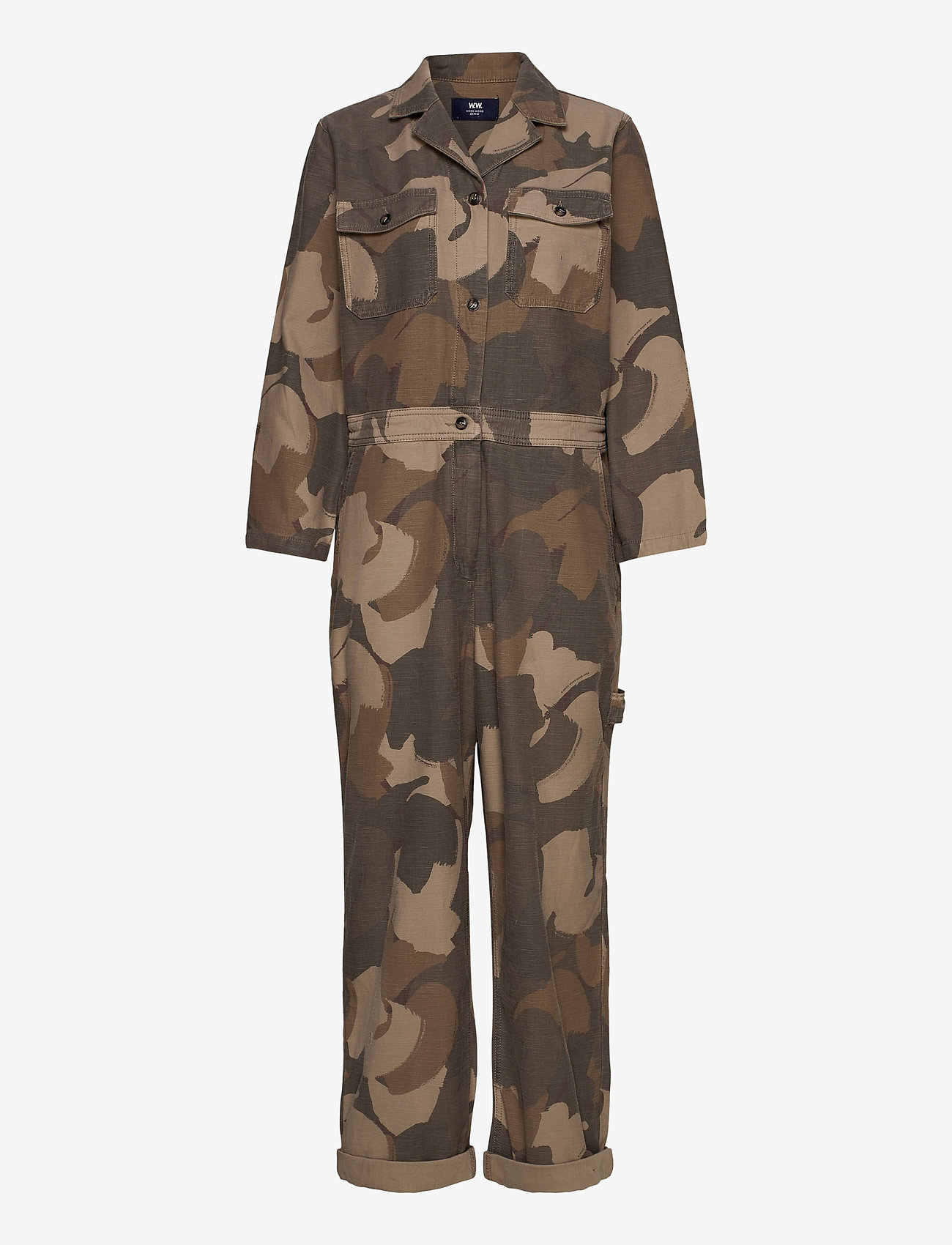 Wood Wood - Irene boilersuit - jumpsuits - brush camo - 0