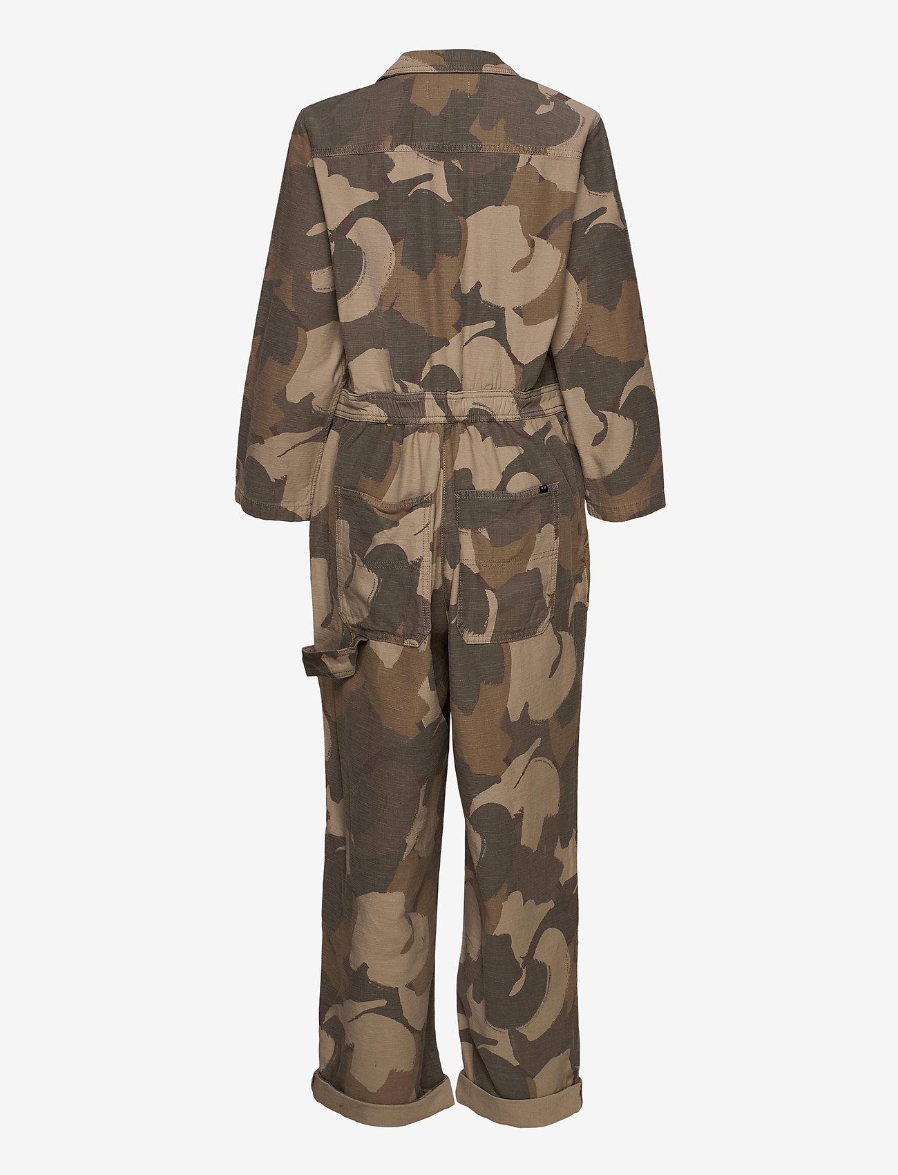 Wood Wood - Irene boilersuit - jumpsuits - brush camo - 1