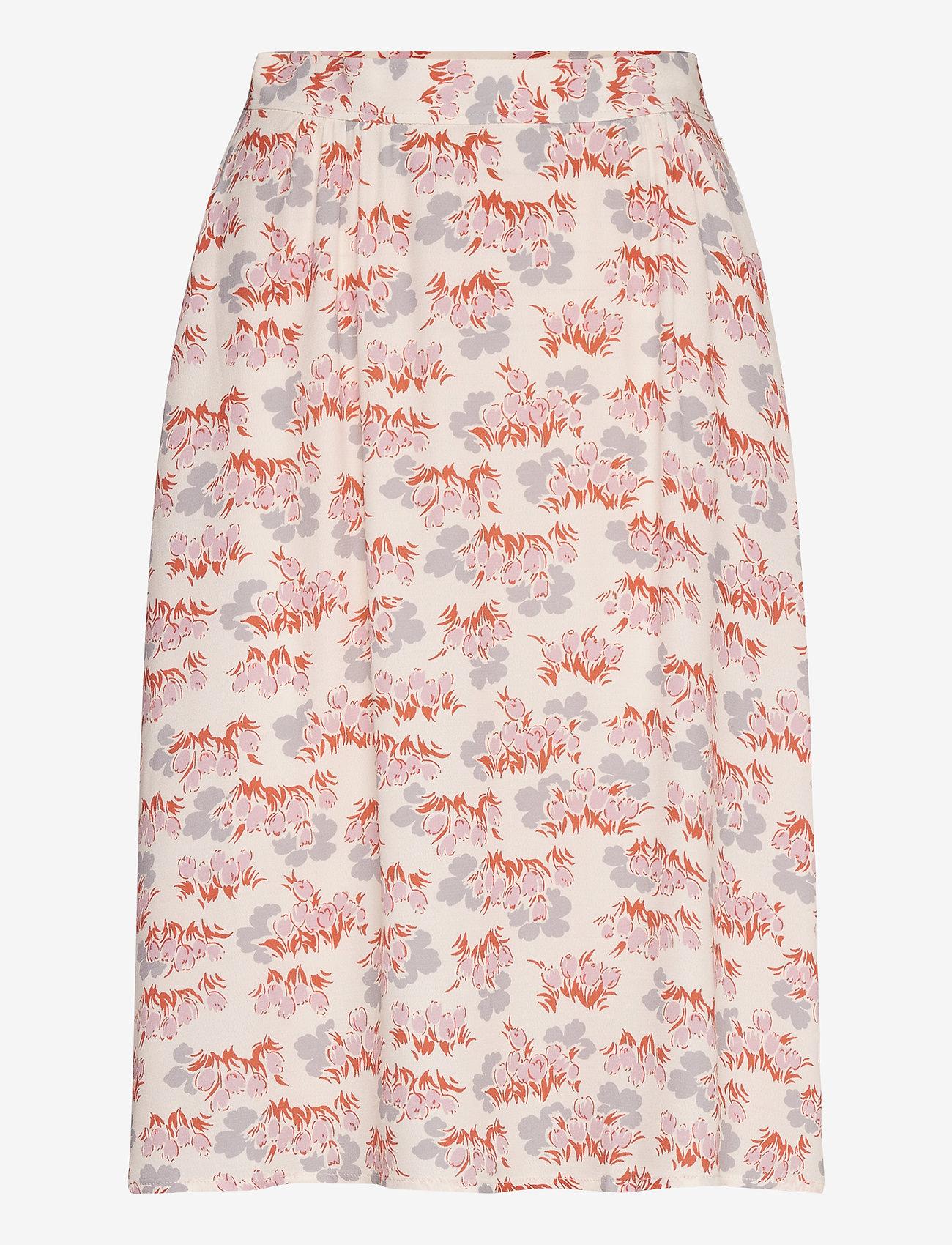 Wood Wood - Helene skirt - midinederdele - floral aop - 0