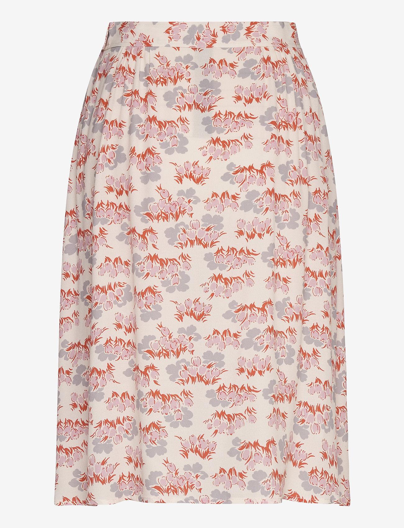 Wood Wood - Helene skirt - midinederdele - floral aop - 1