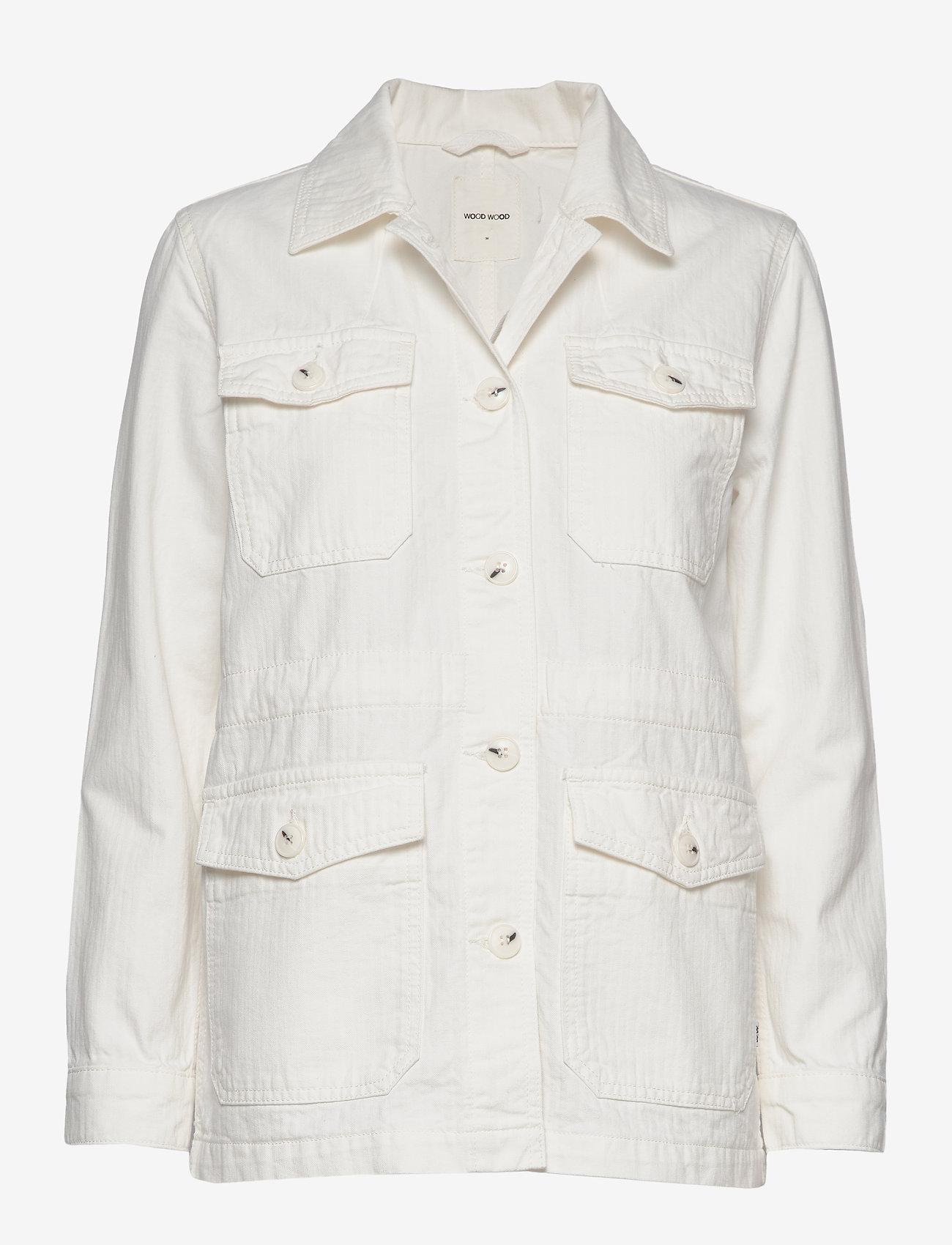 Wood Wood - Gretchen jacket - utility jassen - off-white - 0