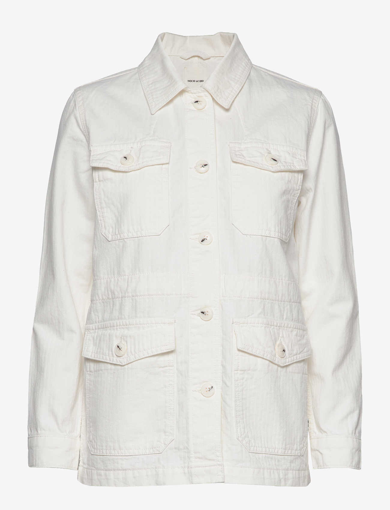 Wood Wood - Gretchen jacket - utility jassen - off-white - 1