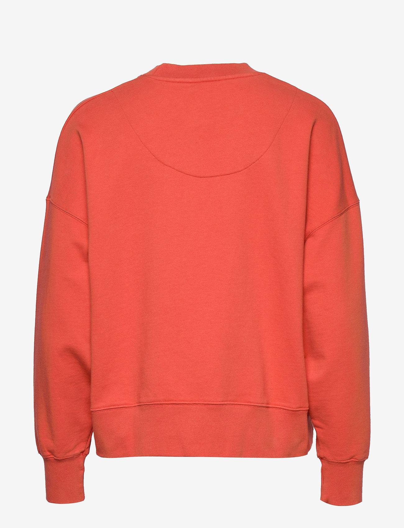 Wood Wood - Patti sweatshirt - sweatshirts - coral - 1