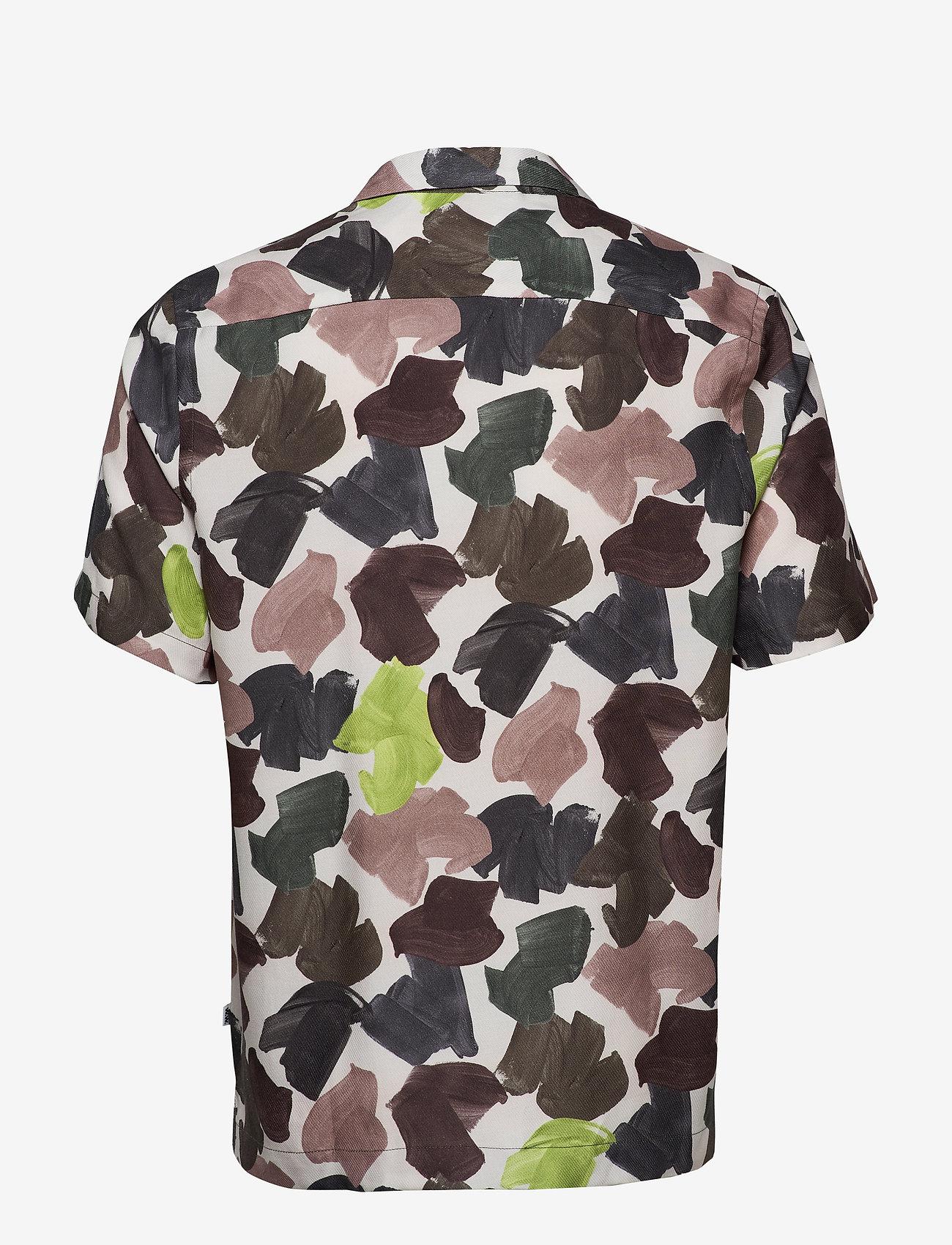Brandon Shirt (White Aop) - Wood Wood r2kEgj