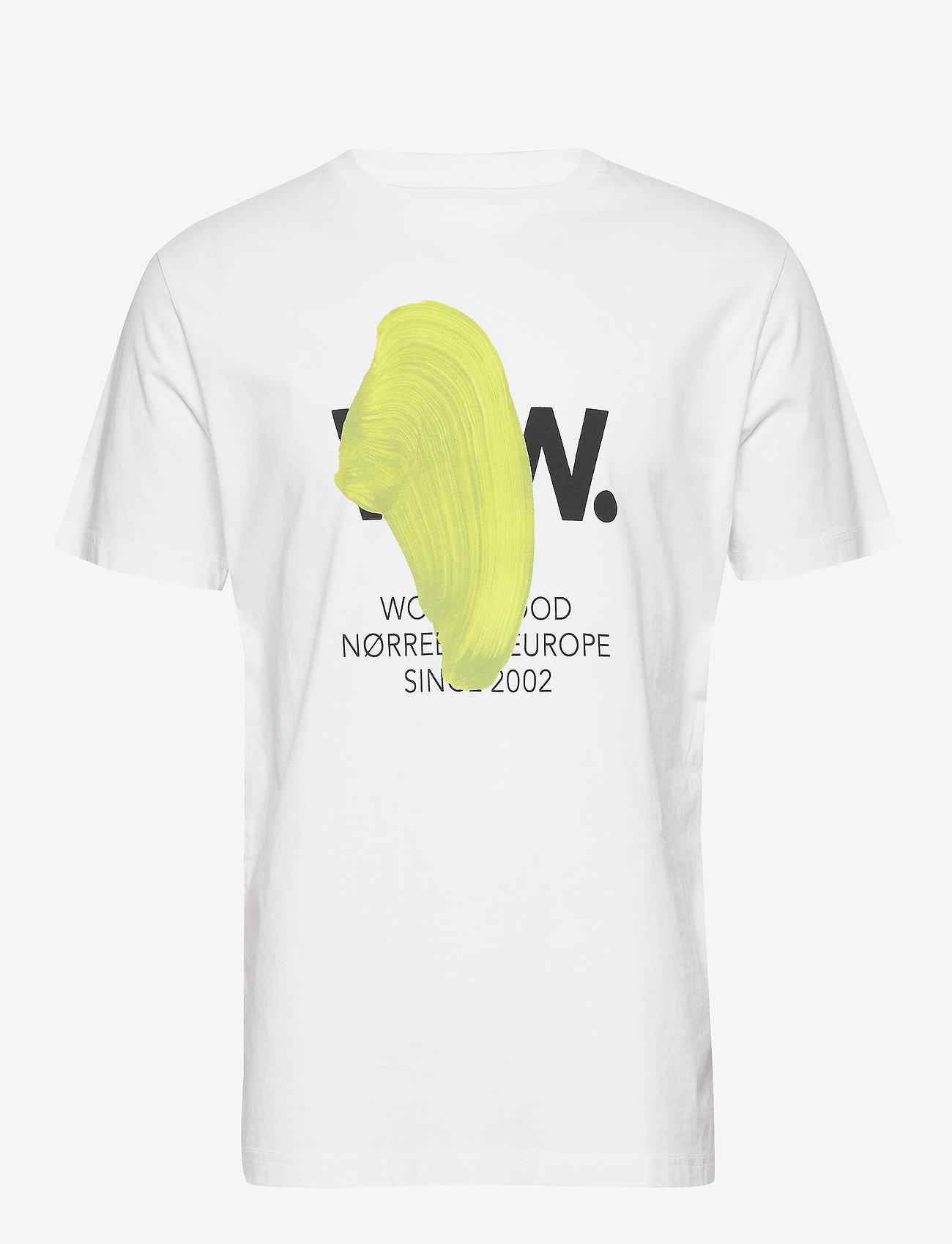 Wood Wood WWblob T-shirt - T-shirts BRIGHT WHITE tKZOJWmA