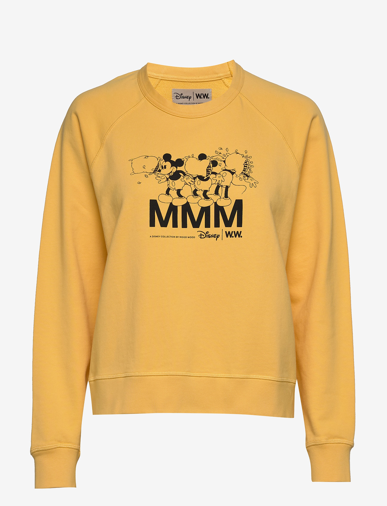 Wood Wood - Jerri sweatshirt - sweatshirts - yellow - 0