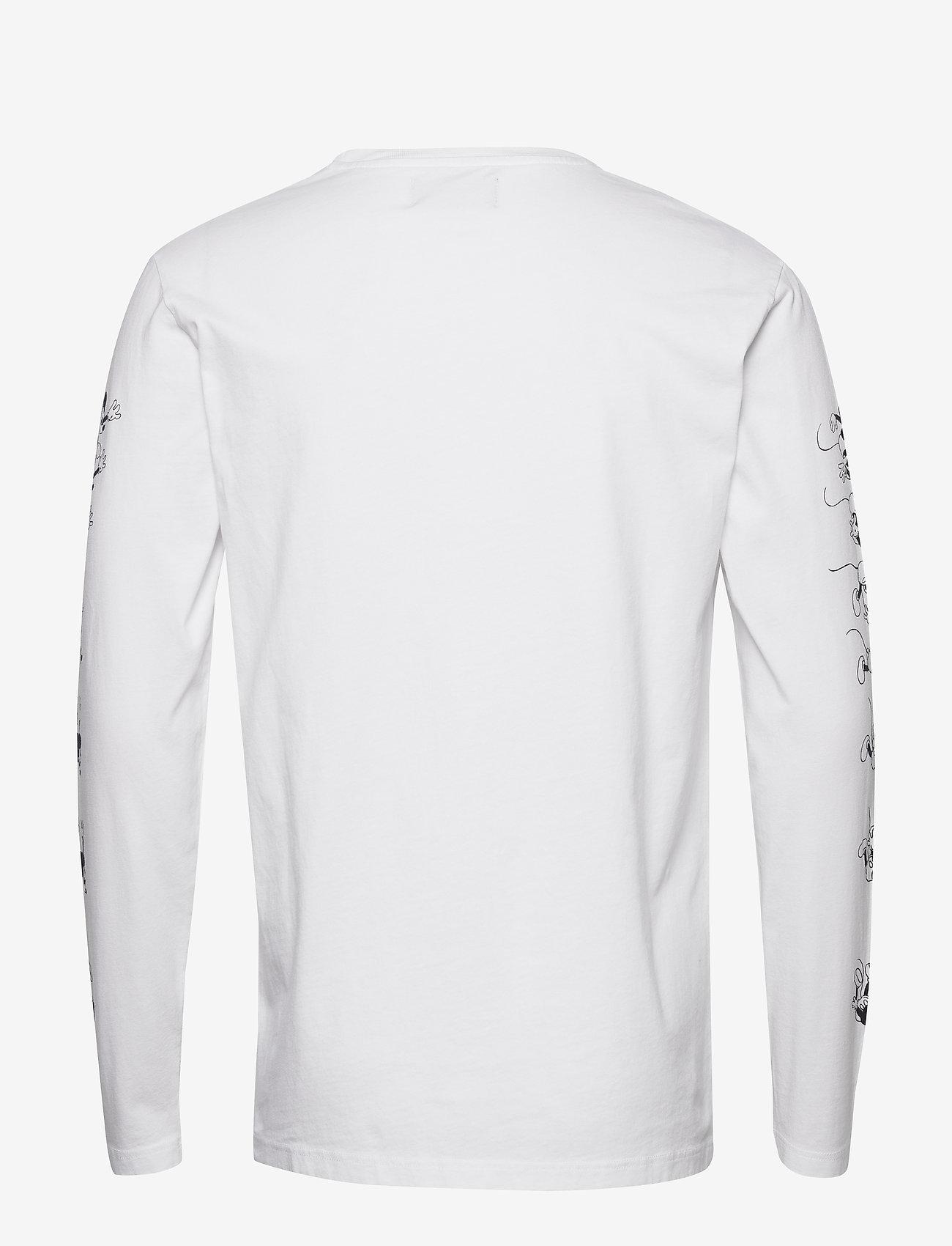 Peter Long Sleeve (Bright White) (52 €) - Wood Wood gNqJI