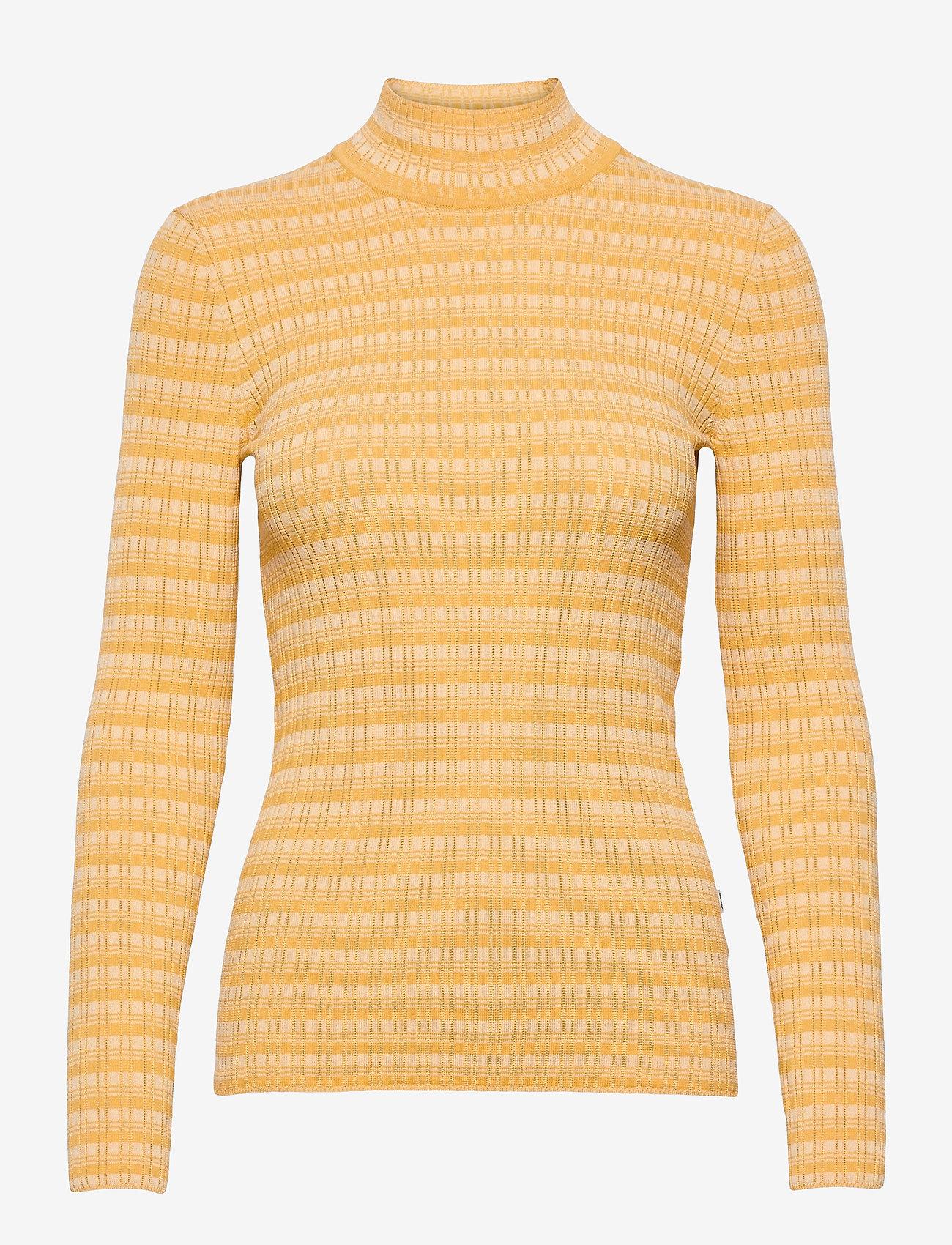 Wood Wood - Josie turtleneck - turtlenecks - yellow - 0