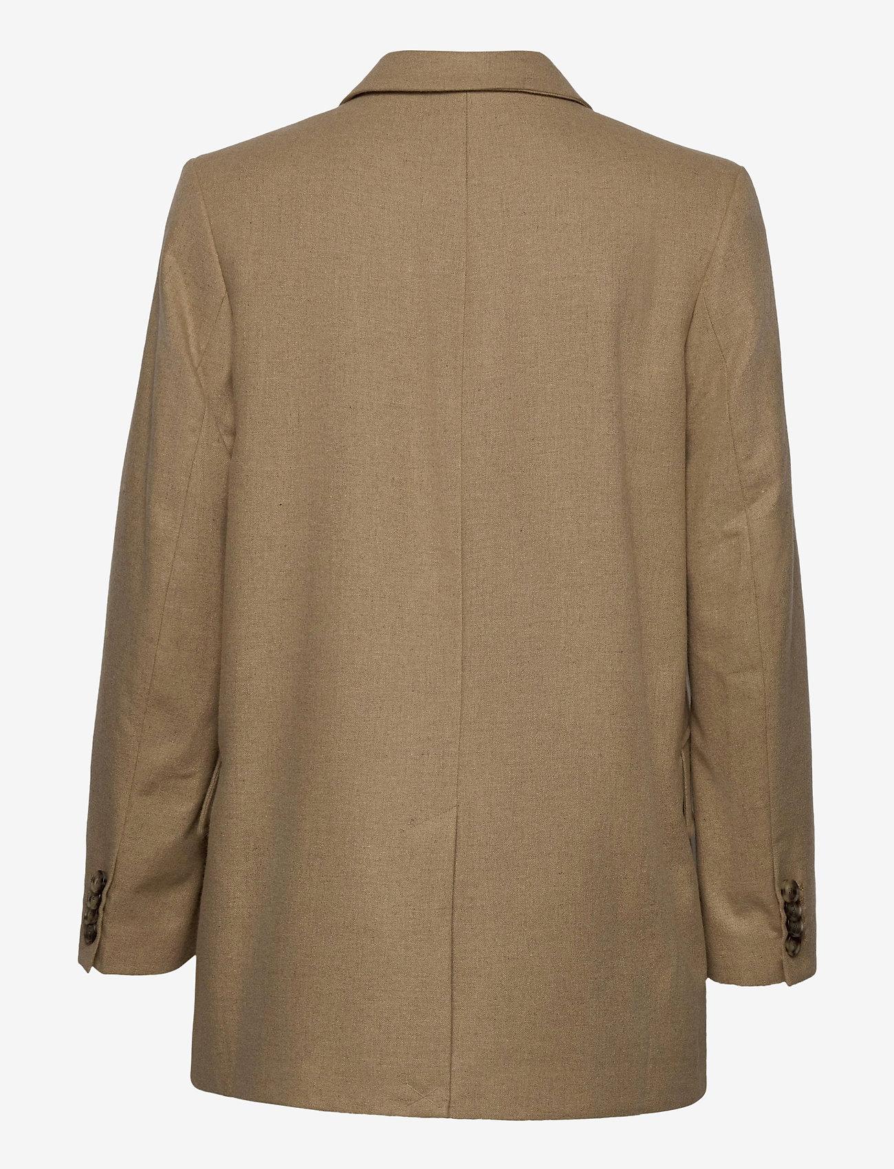 Wood Wood - Anna jacket - wool jackets - khaki - 1