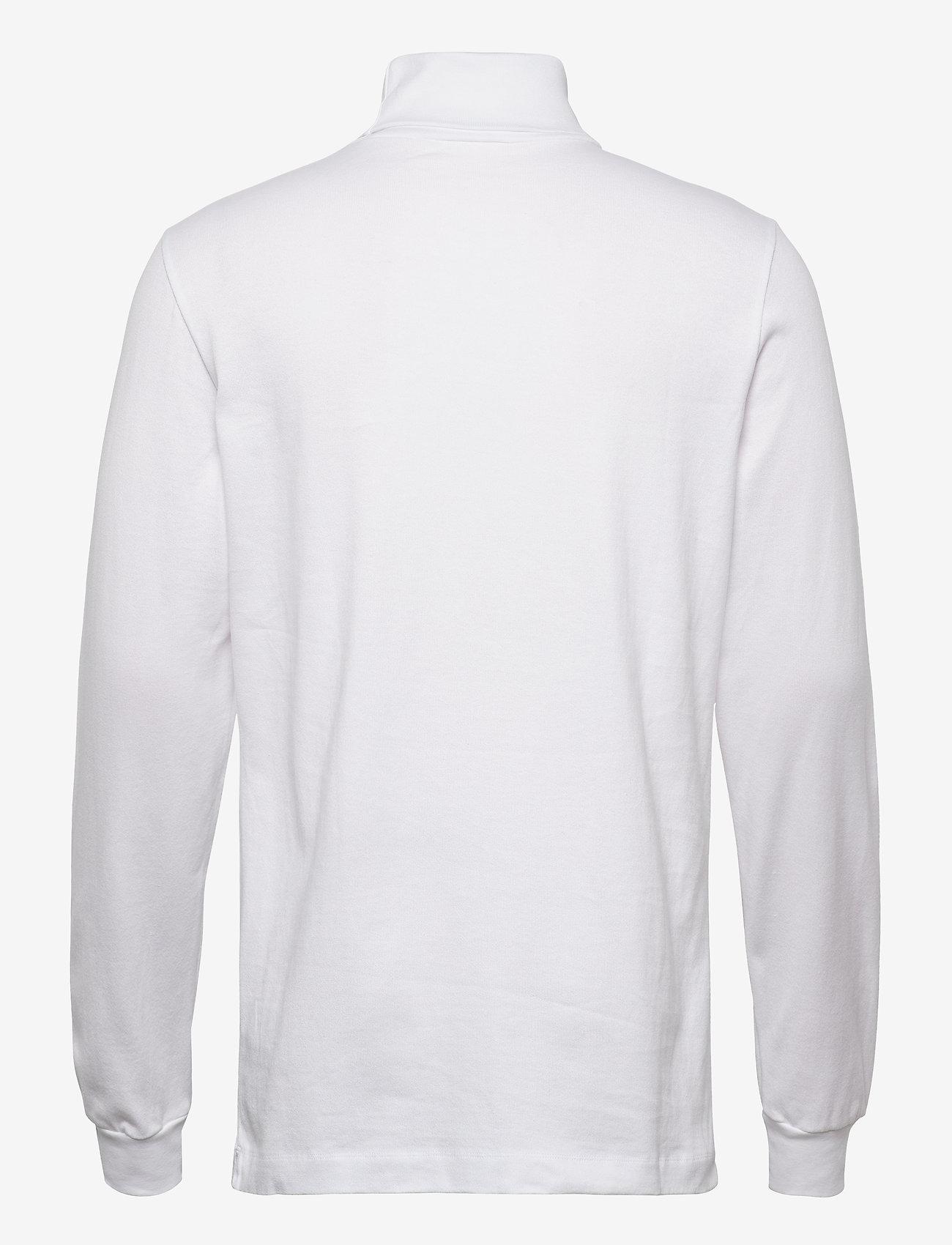 Wood Wood Austin turtleneck - T-skjorter BRIGHT WHITE - Menn Klær