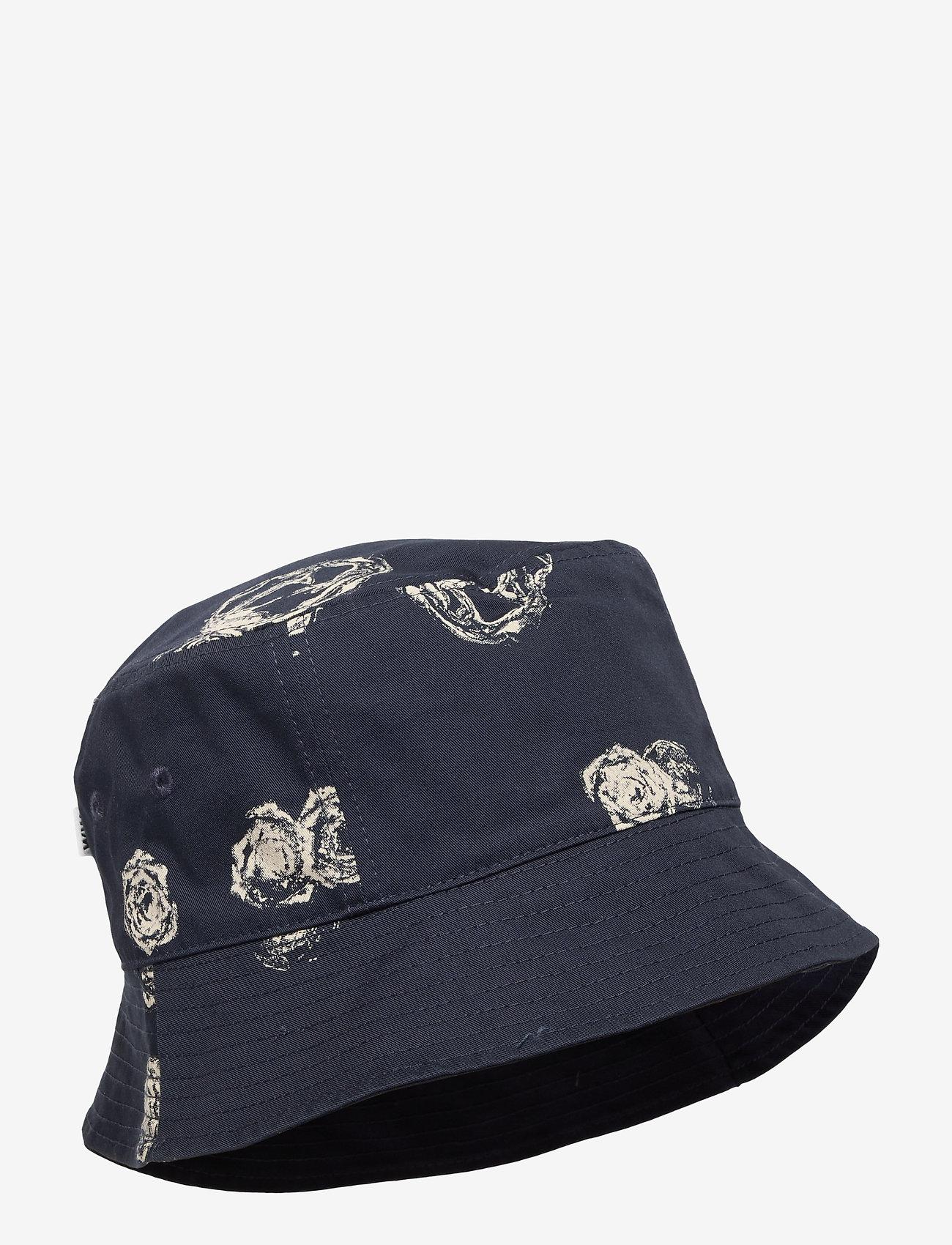 Wood Wood - Graphic bucket hat - bonnets & casquettes - blue aop - 0