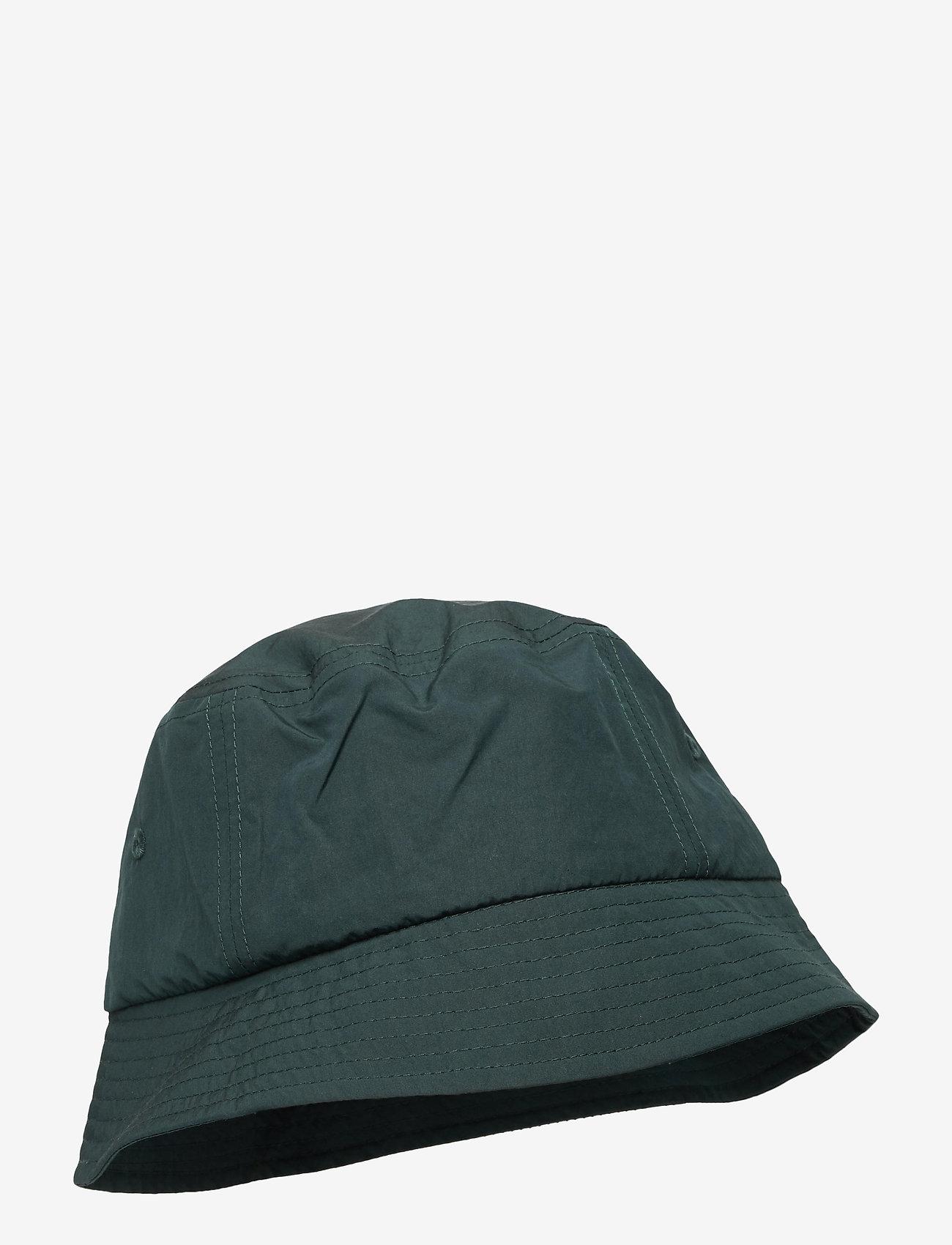 Wood Wood - Nylon bucket hat - bonnets & casquettes - dark green - 0