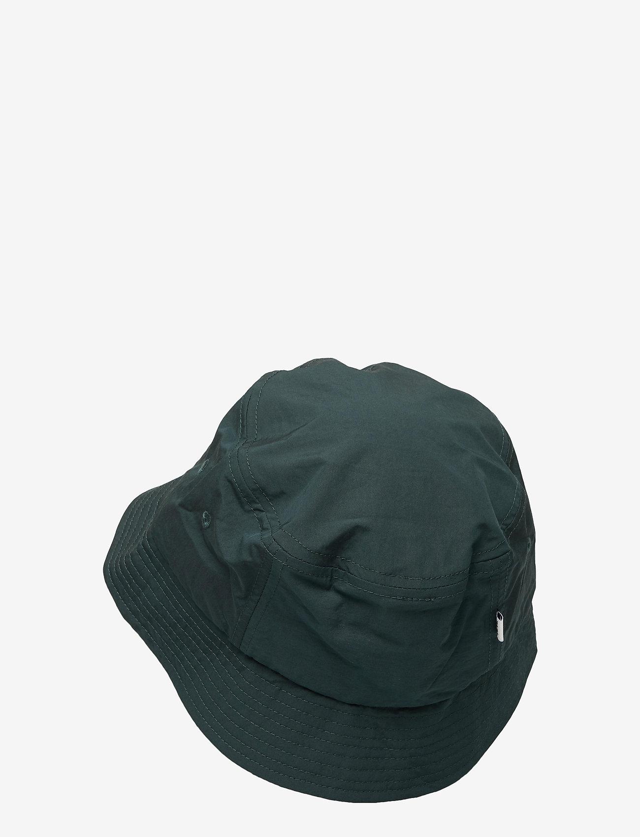 Wood Wood - Nylon bucket hat - bonnets & casquettes - dark green - 1
