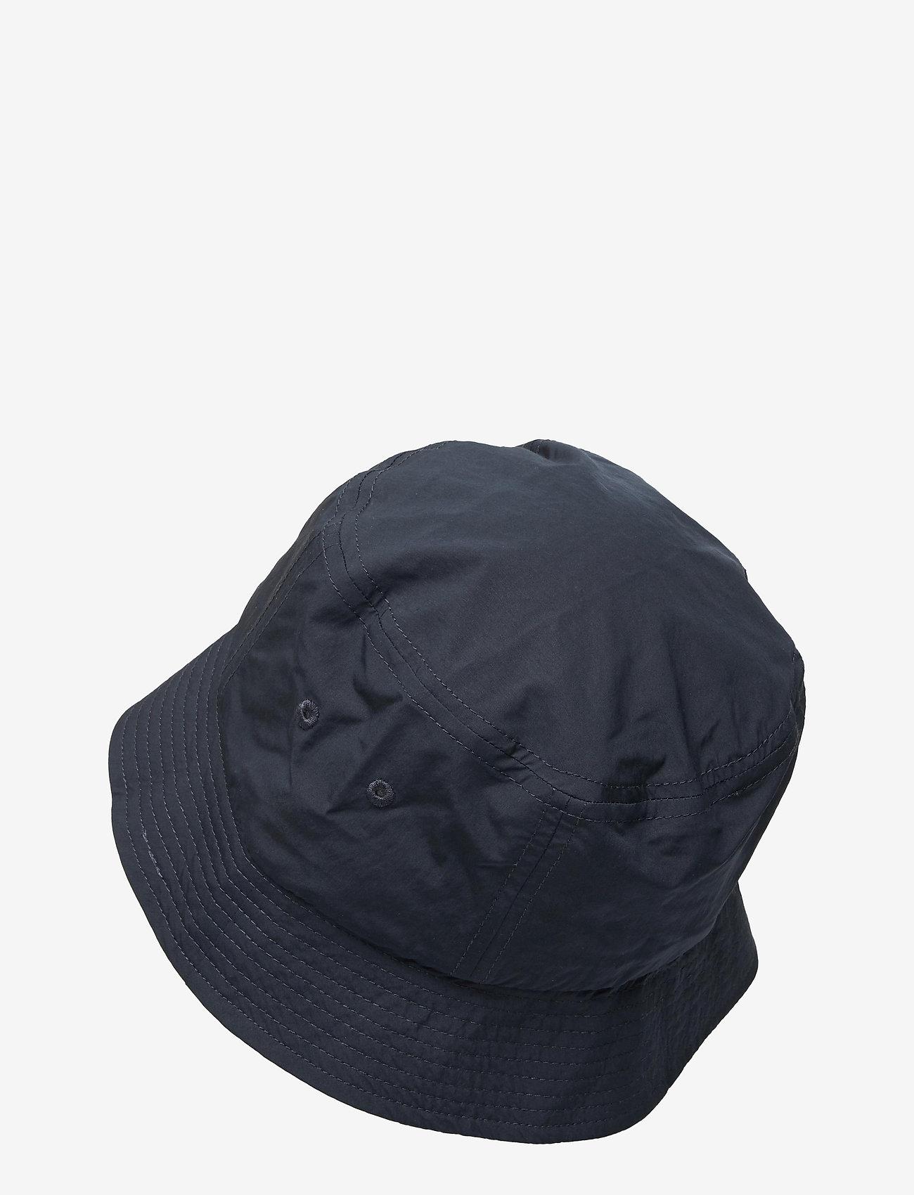 Wood Wood - Nylon bucket hat - bonnets & casquettes - navy - 1