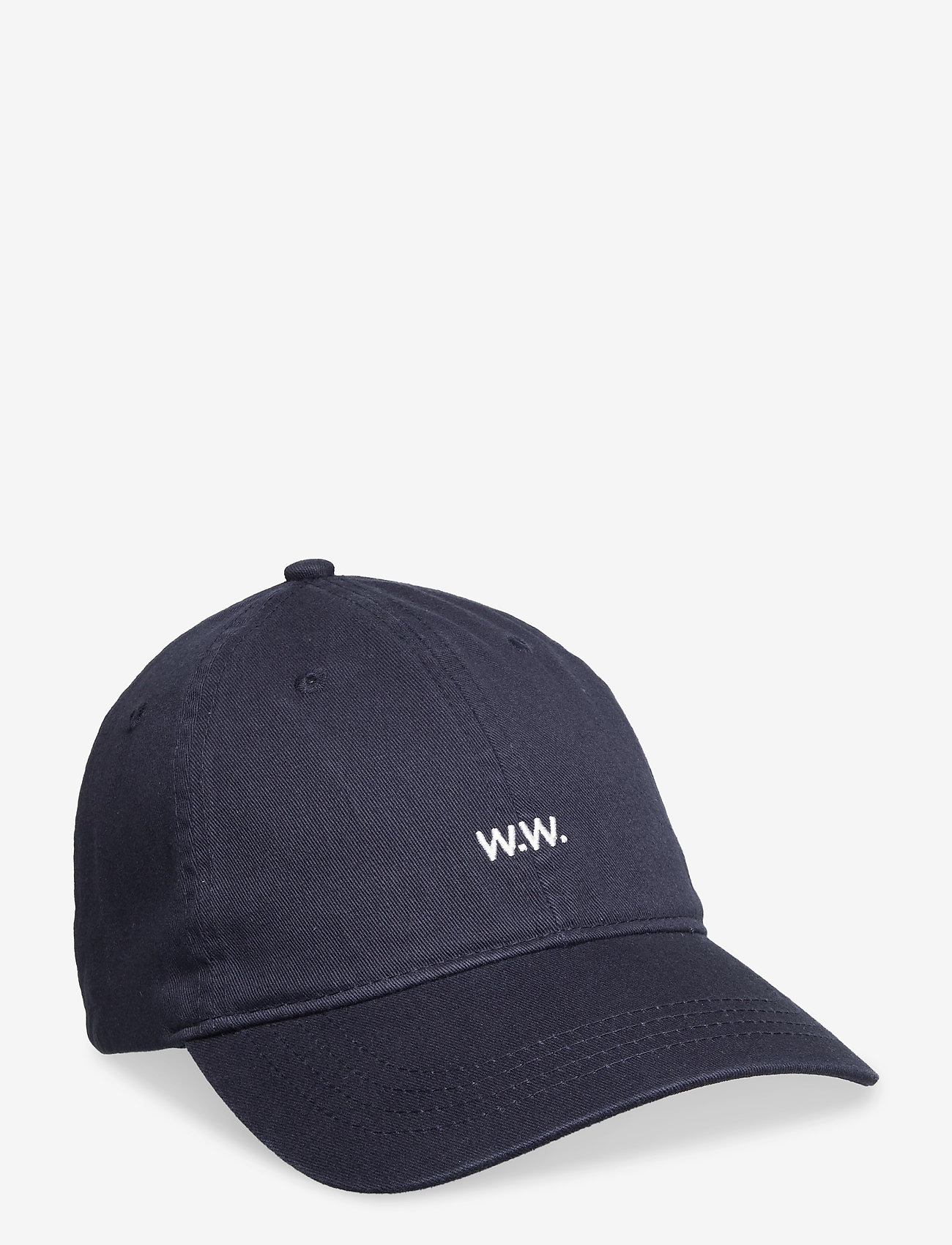 Wood Wood - Low profile twill cap - huer & kasketter - navy - 0