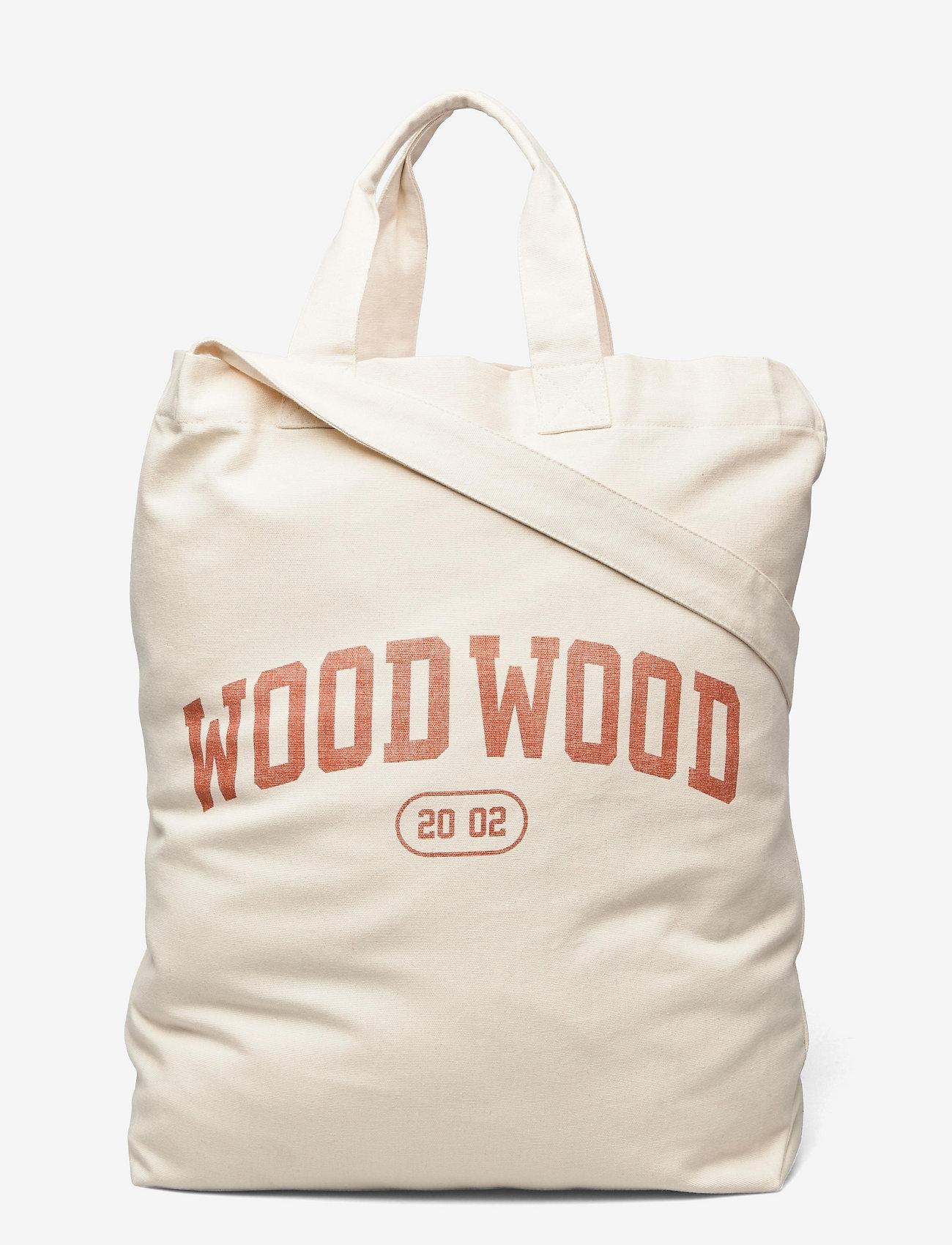 Wood Wood - High canvas shopper - shoppers - blood orange - 0