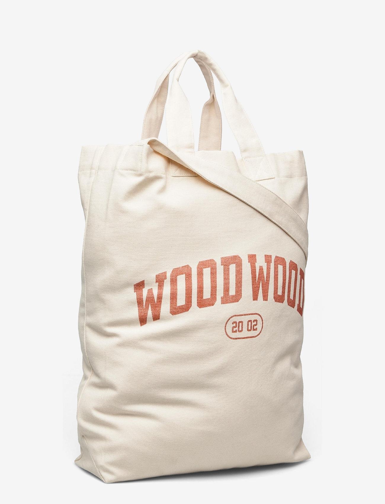 Wood Wood - High canvas shopper - shoppers - blood orange - 2
