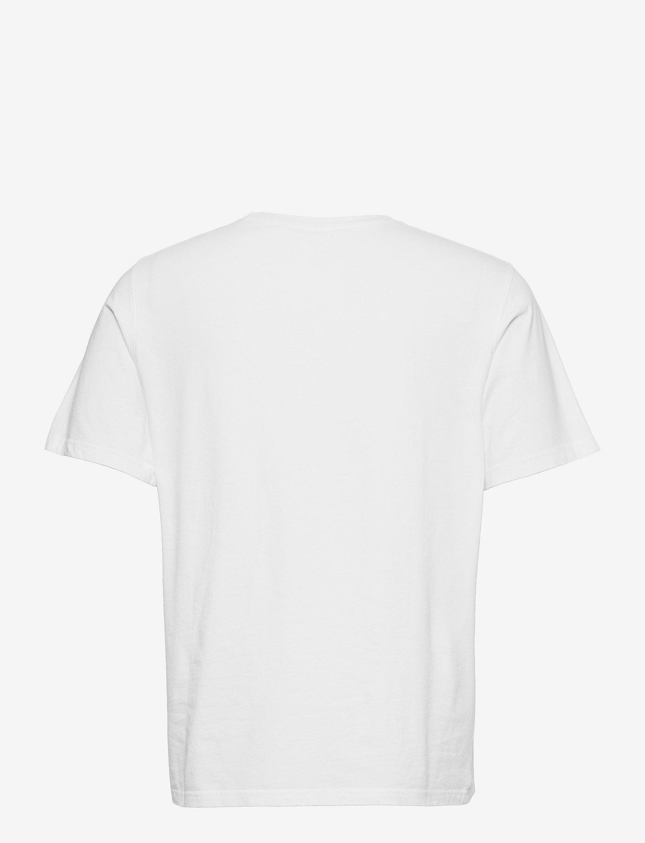 Wood Wood - Sami info T-shirt - basic t-shirts - white - 1