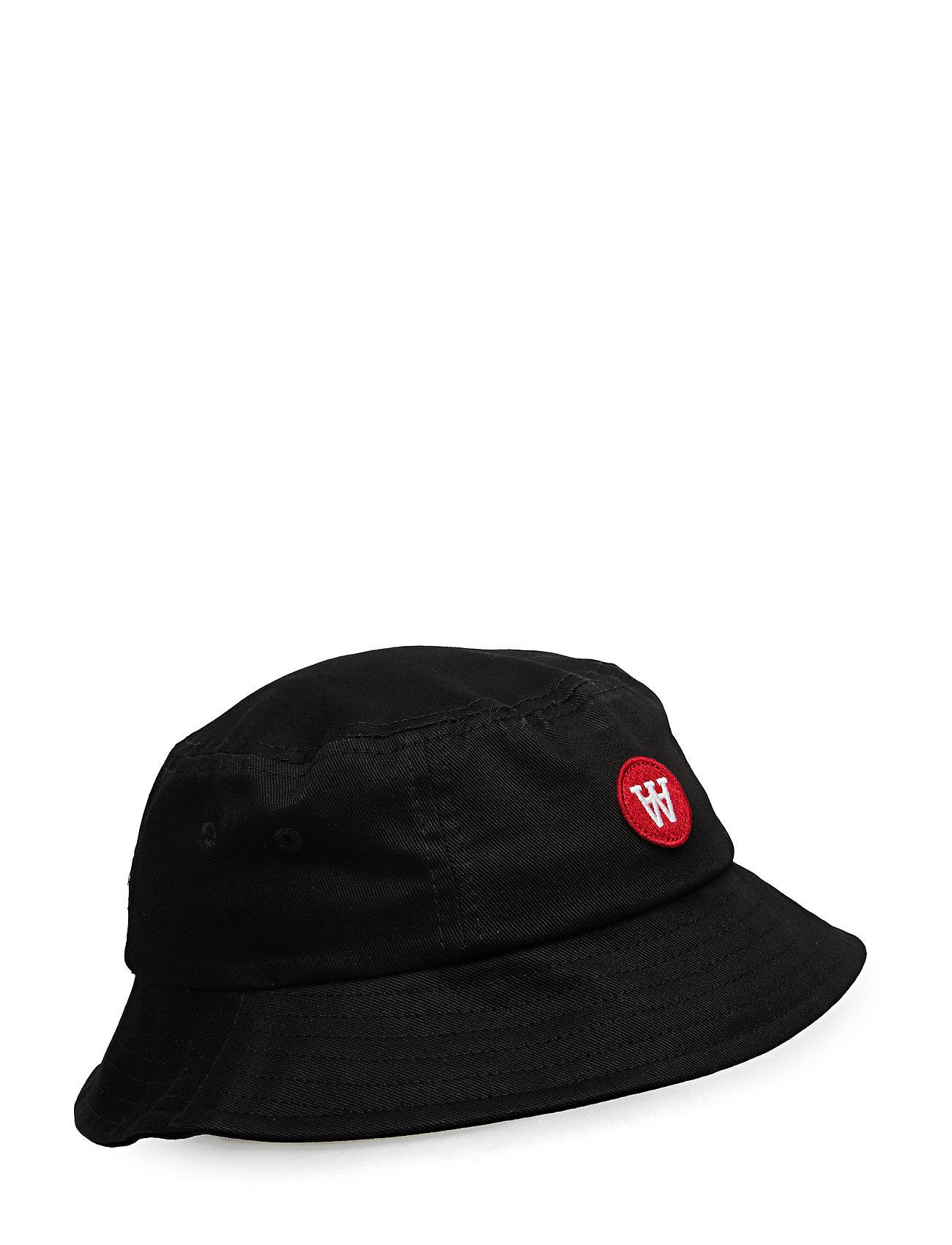Wood Wood Val kids bucket hat - BLACK