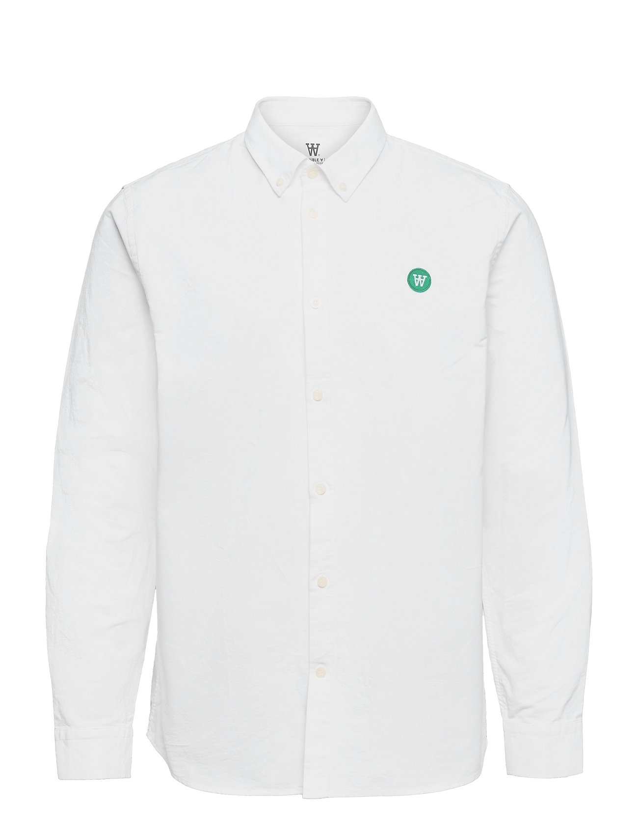Wood Wood Ted shirt - BRIGHT WHITE