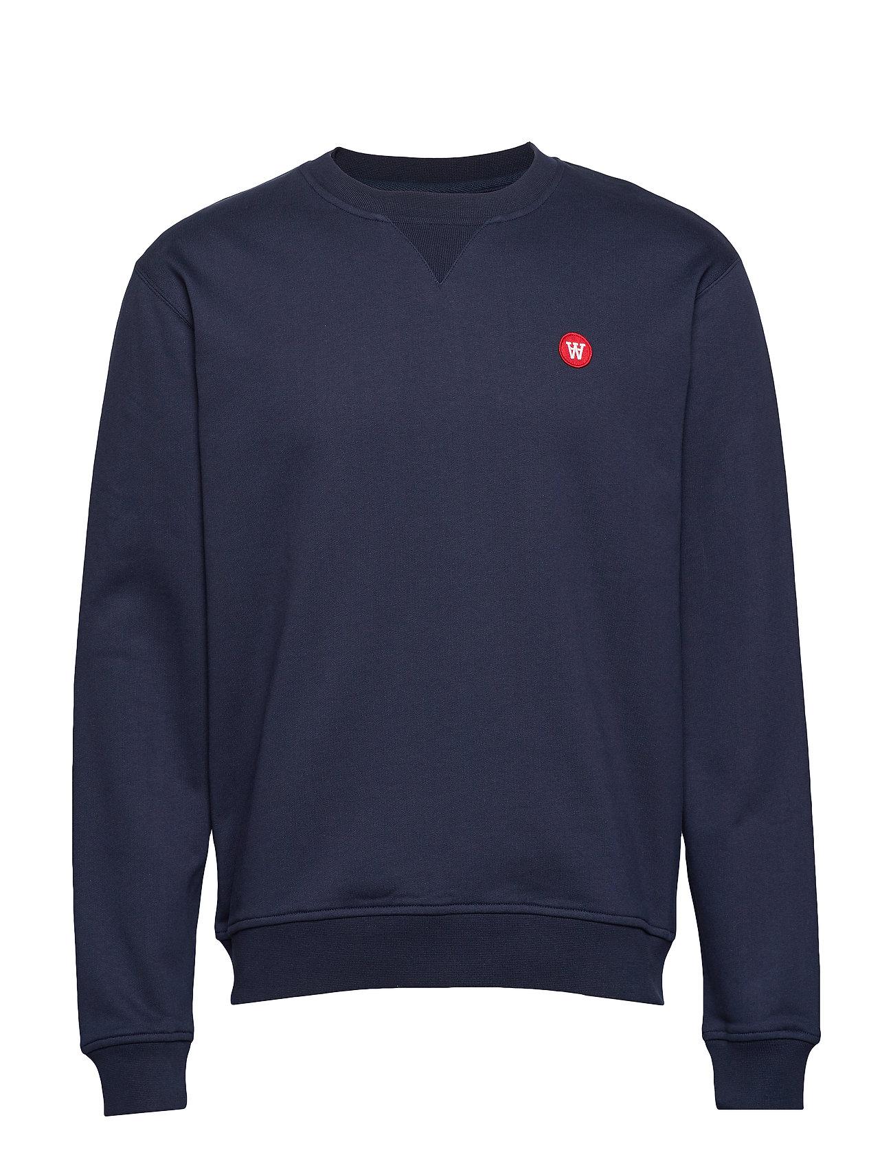 Wood Wood Tye sweatshirt - NAVY
