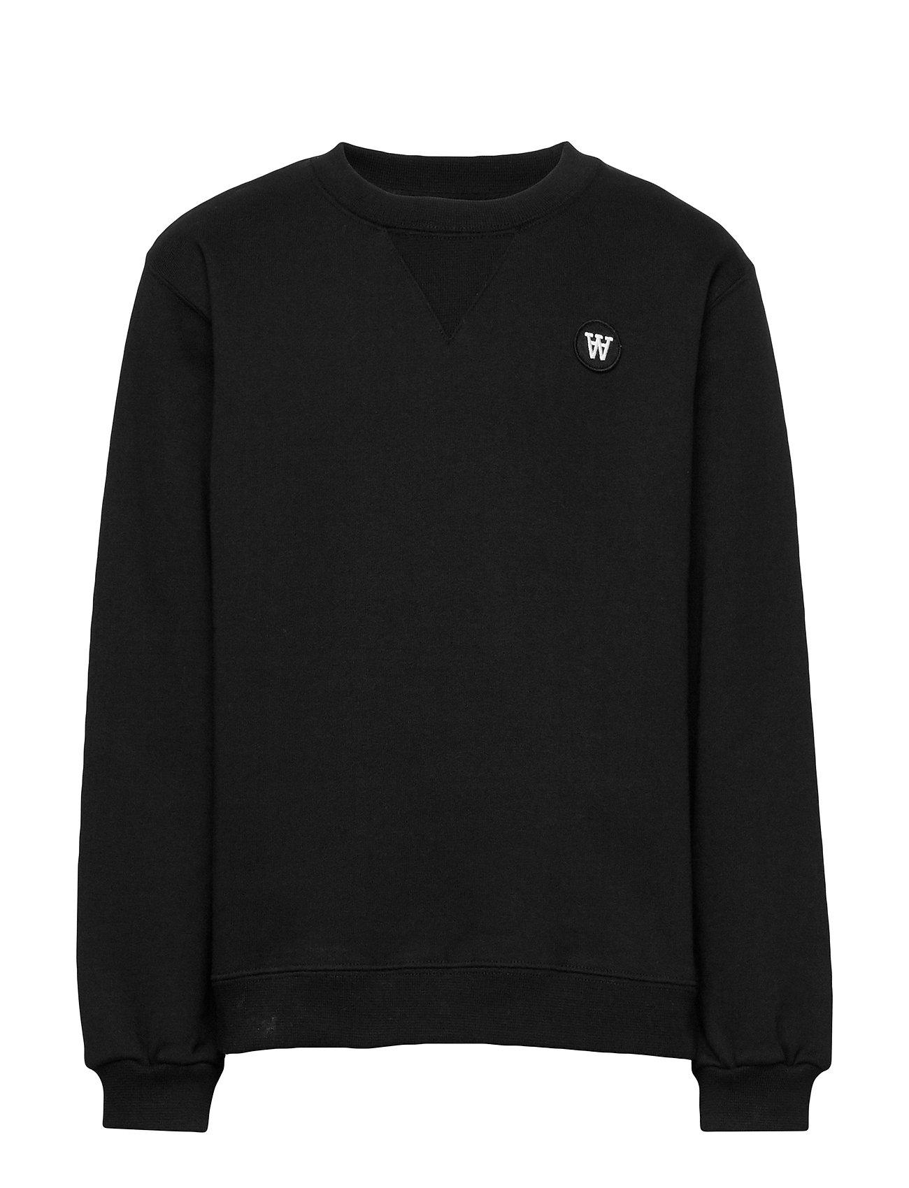 Wood Wood Rod kids sweatshirt - BLACK