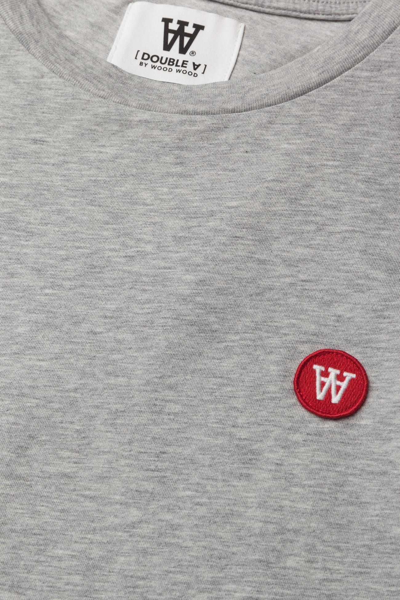 Wood Wood Ace T-shirt - T-skjorter GREY MELANGE - Menn Klær