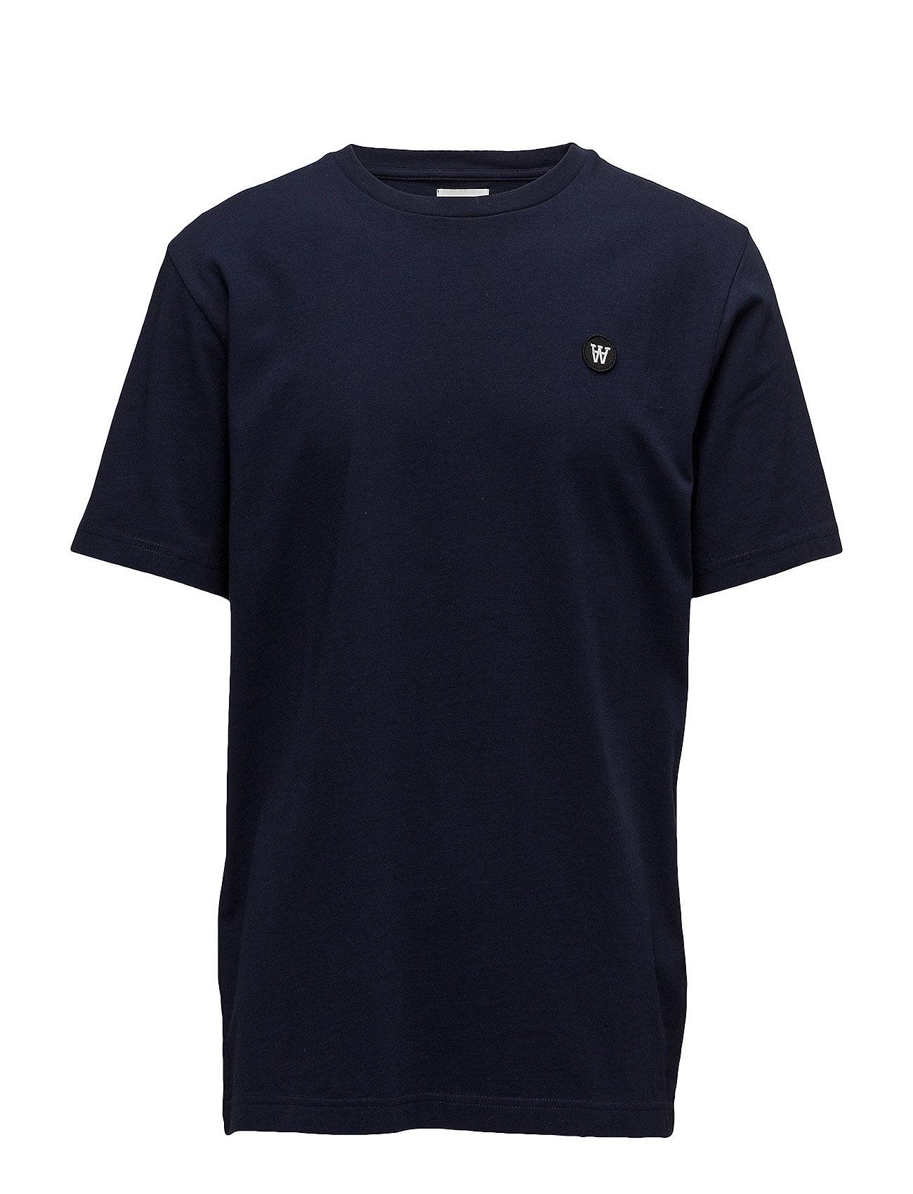Wood Wood Ace T-shirt - NAVY