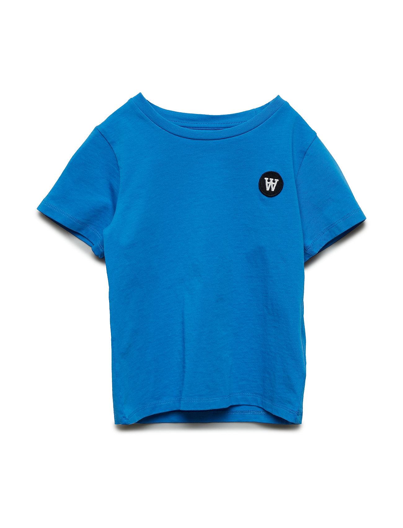 908c335fe541c7 Blå Wood Wood Ola Kids T-Shirt kortærmede t-shirts   toppe for børn ...