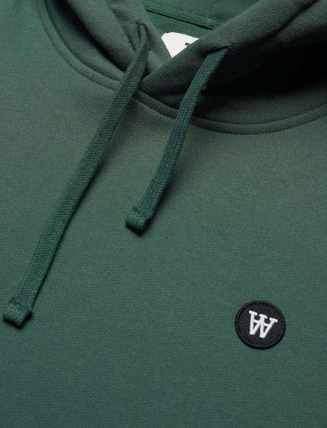Wood Wood - Ian hoodie - sweats à capuche - faded green - 2