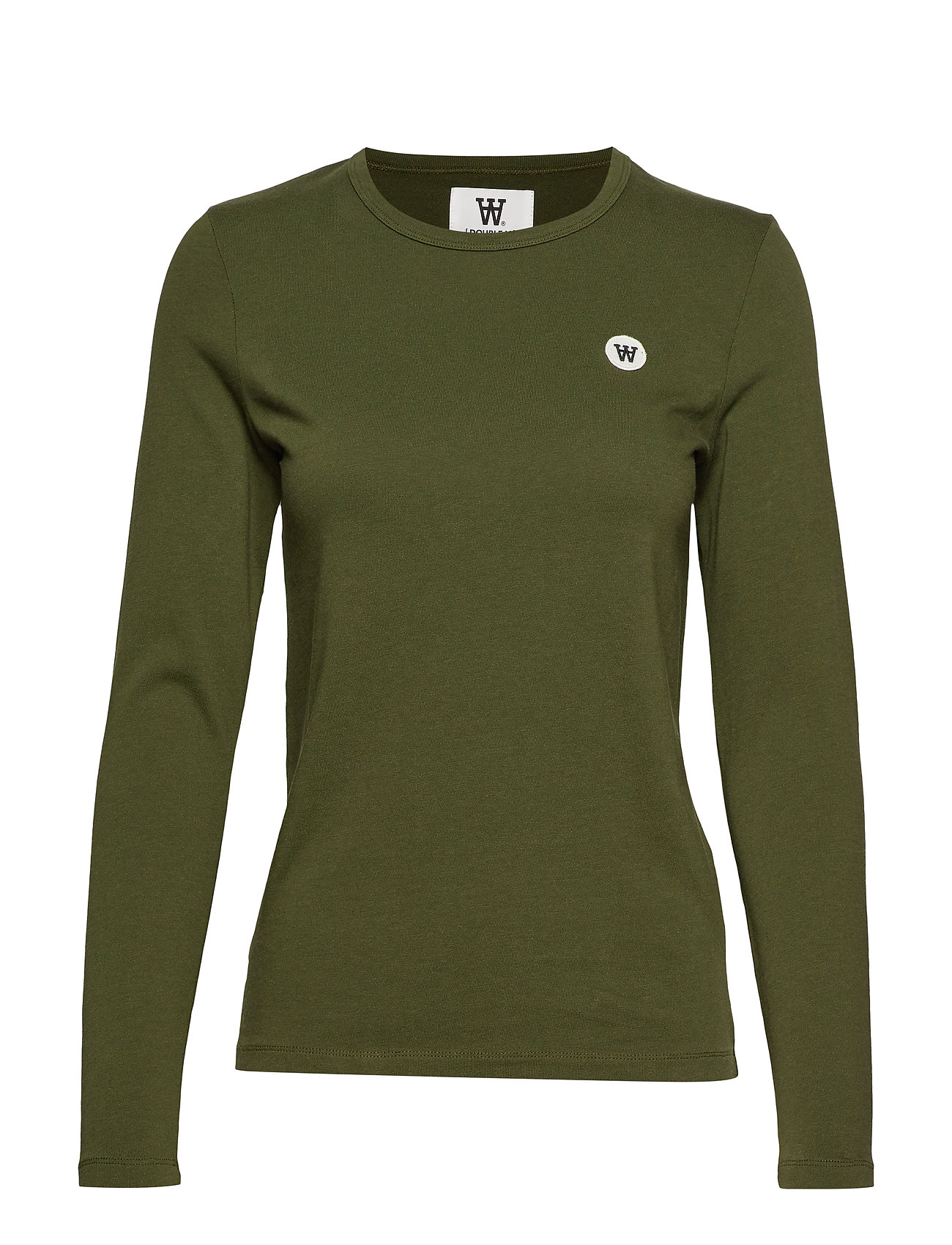 Wood Wood Moa long sleeve - ARMY GREEN