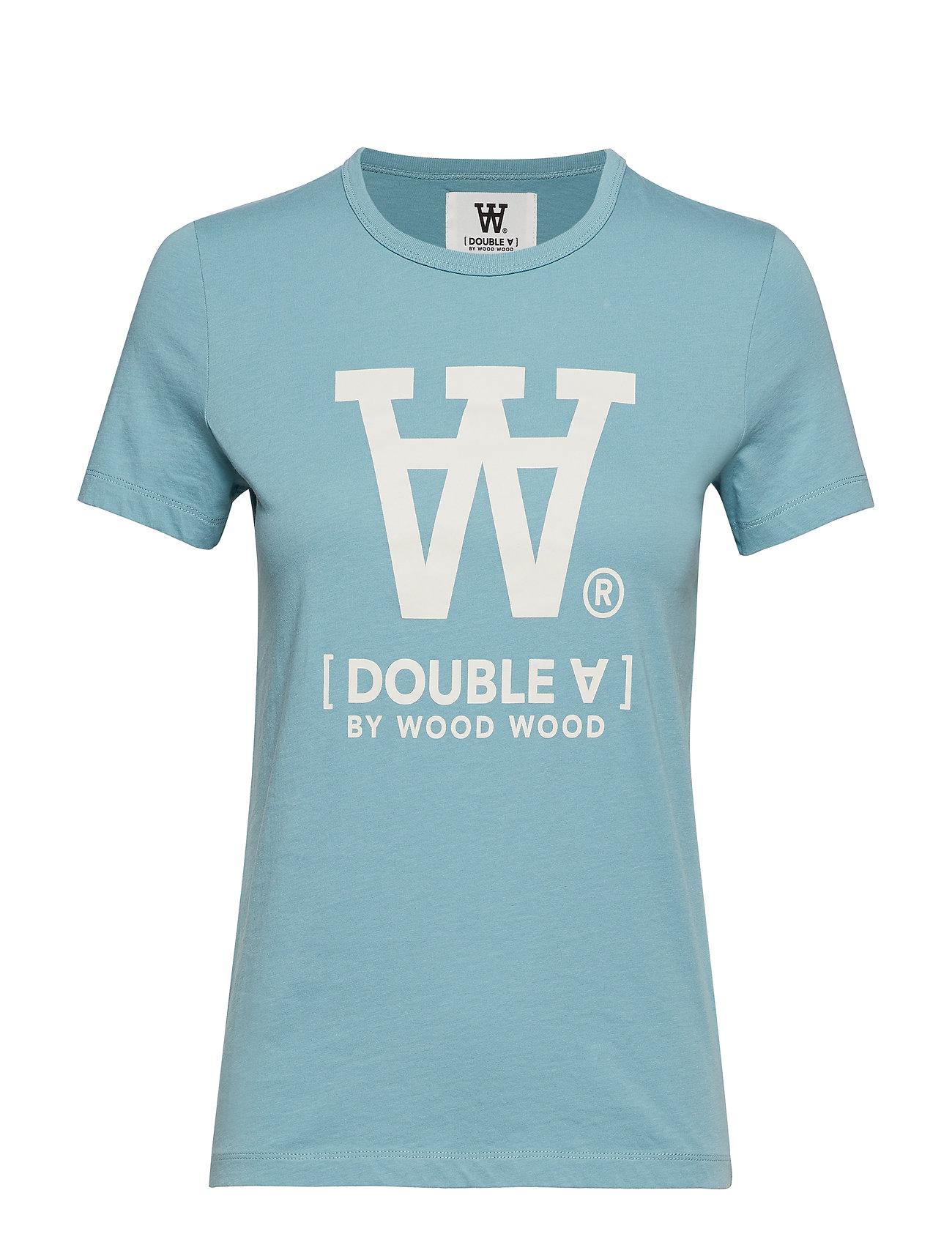 Wood Wood Uma T-shirt - DUSTY BLUE