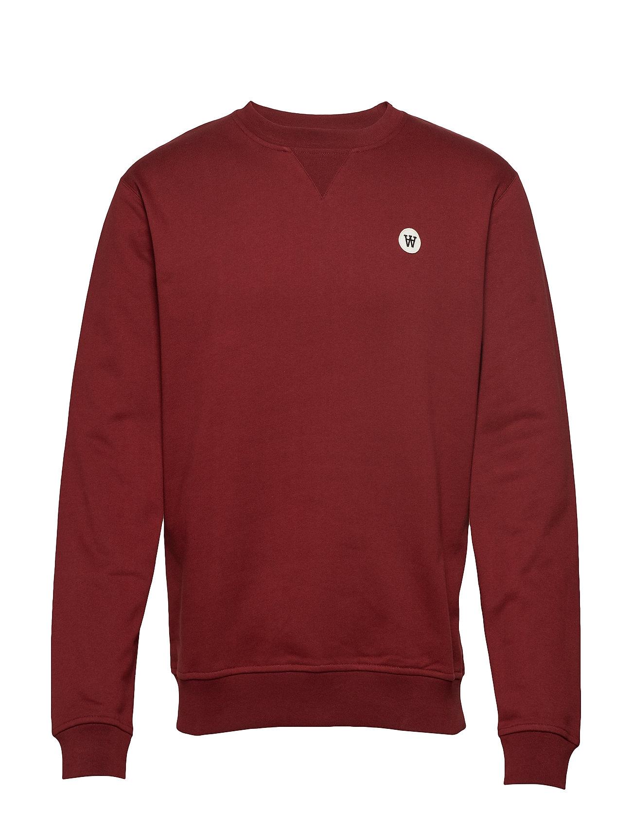 Wood Wood Tye sweatshirt - DARK RED